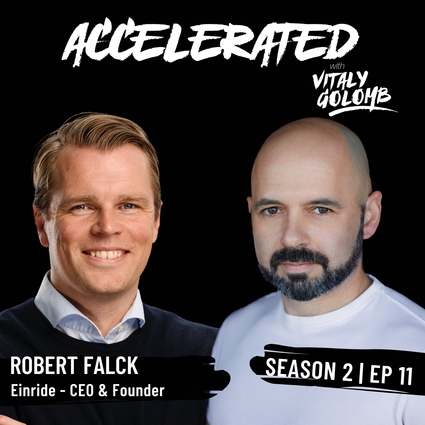 Artwork for podcast Accelerated with Vitaly Golomb