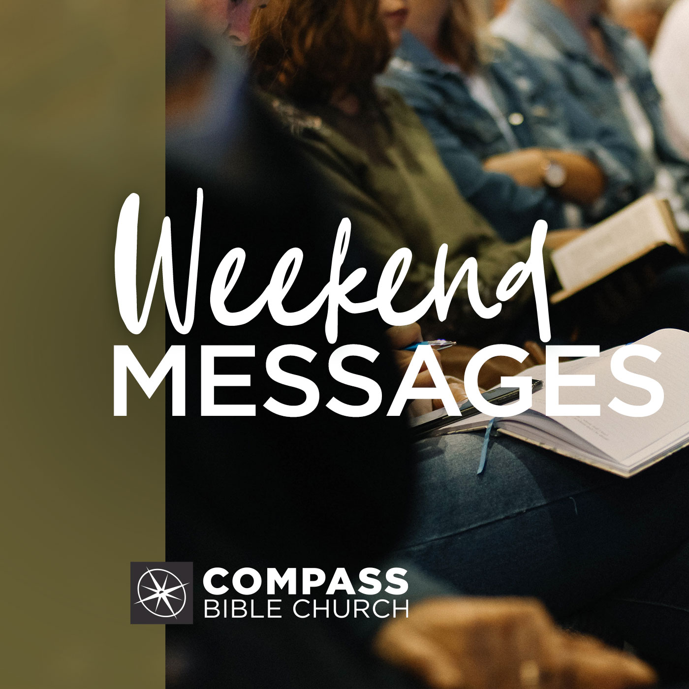 Artwork for podcast Weekend Messages | Compass Bible Church