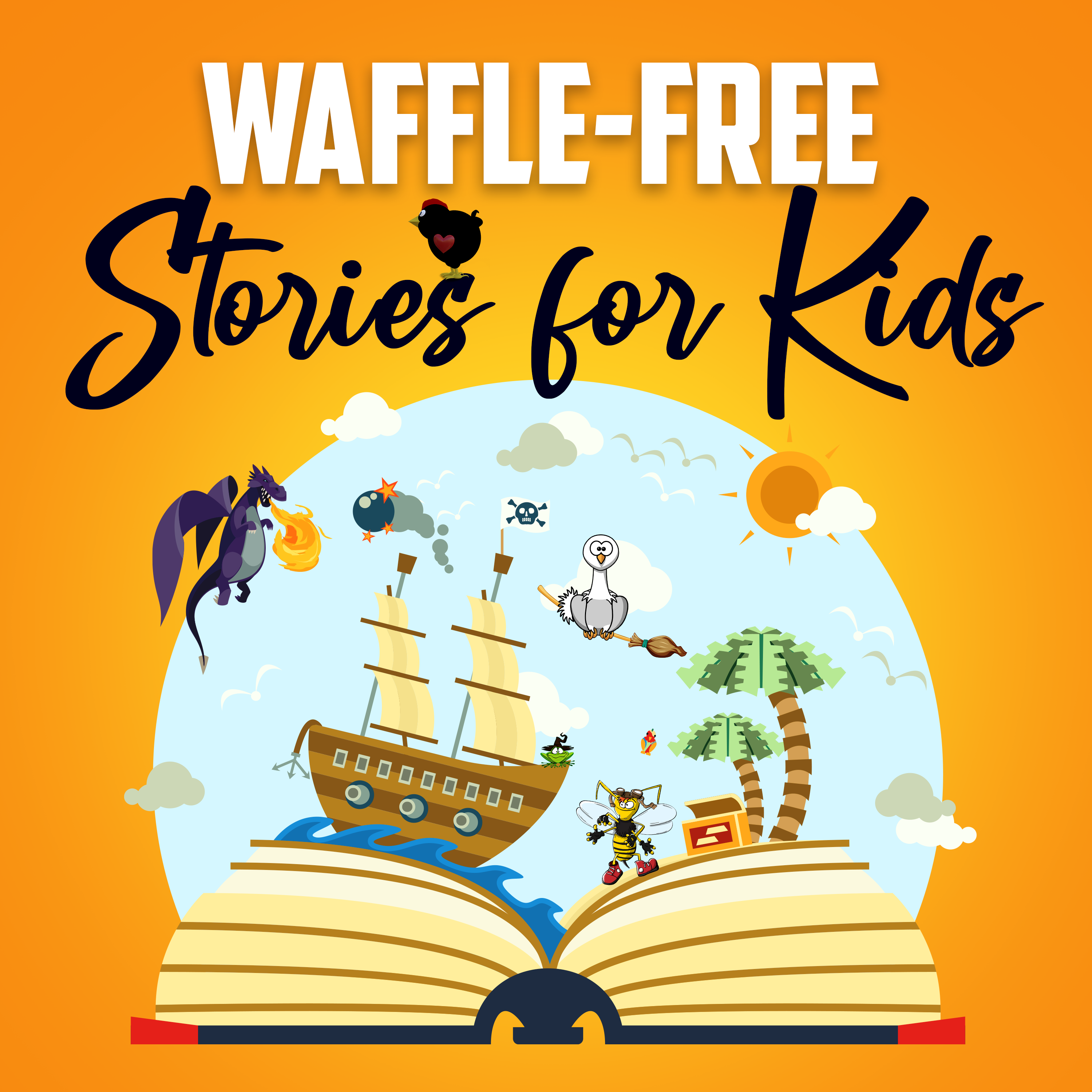 Waffle Free Stories for Kids!'s artwork
