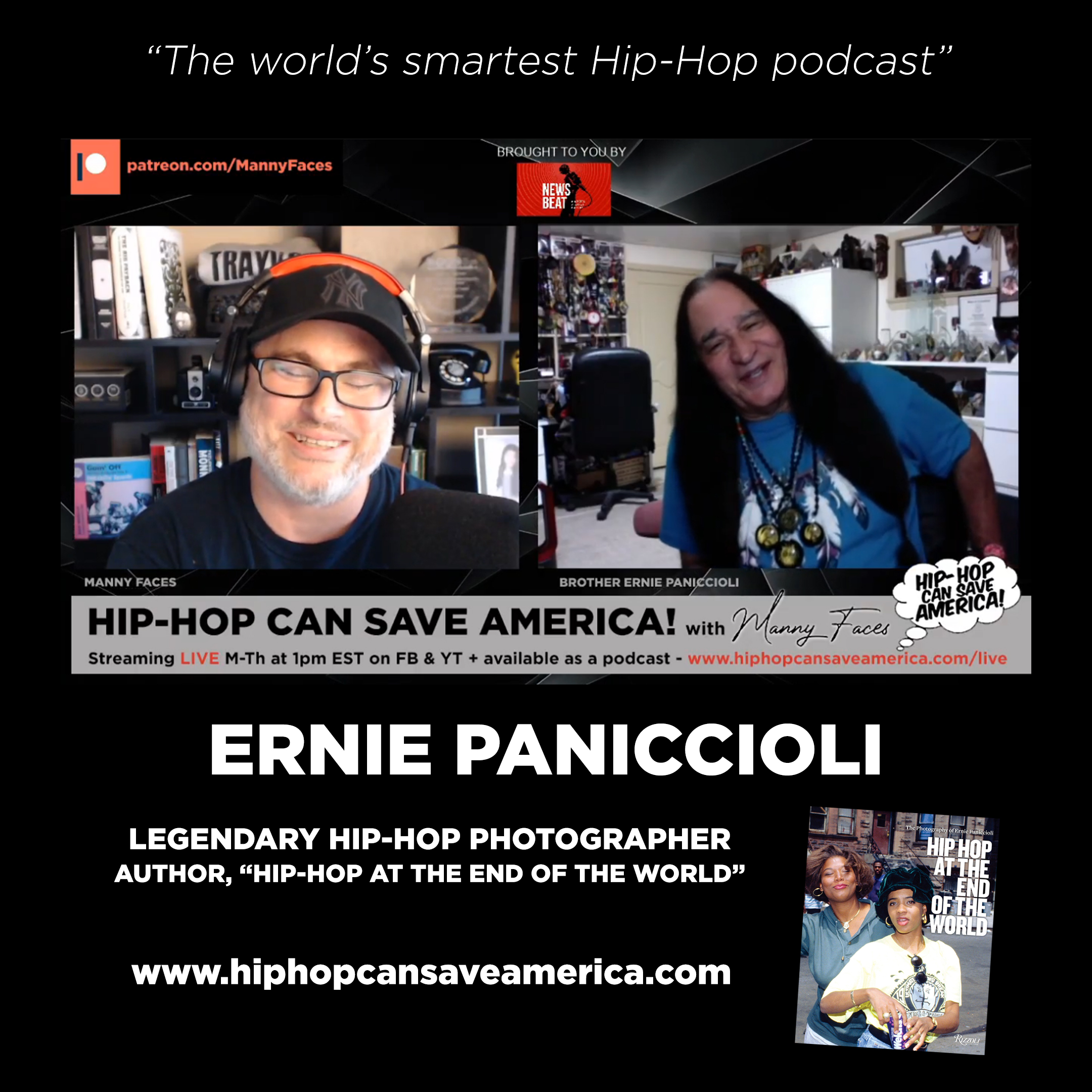 Artwork for podcast Hip-Hop Can Save America