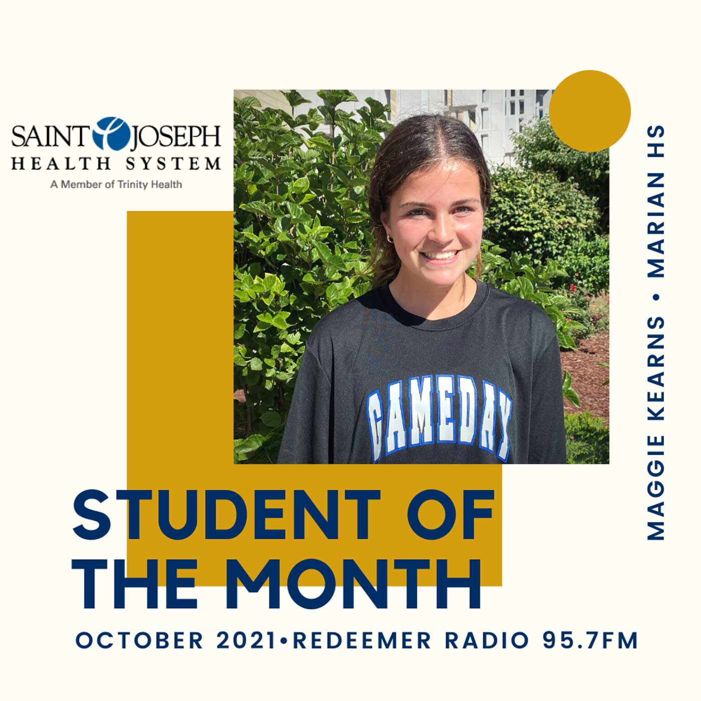 Artwork for podcast Student of the Month - Redeemer Radio