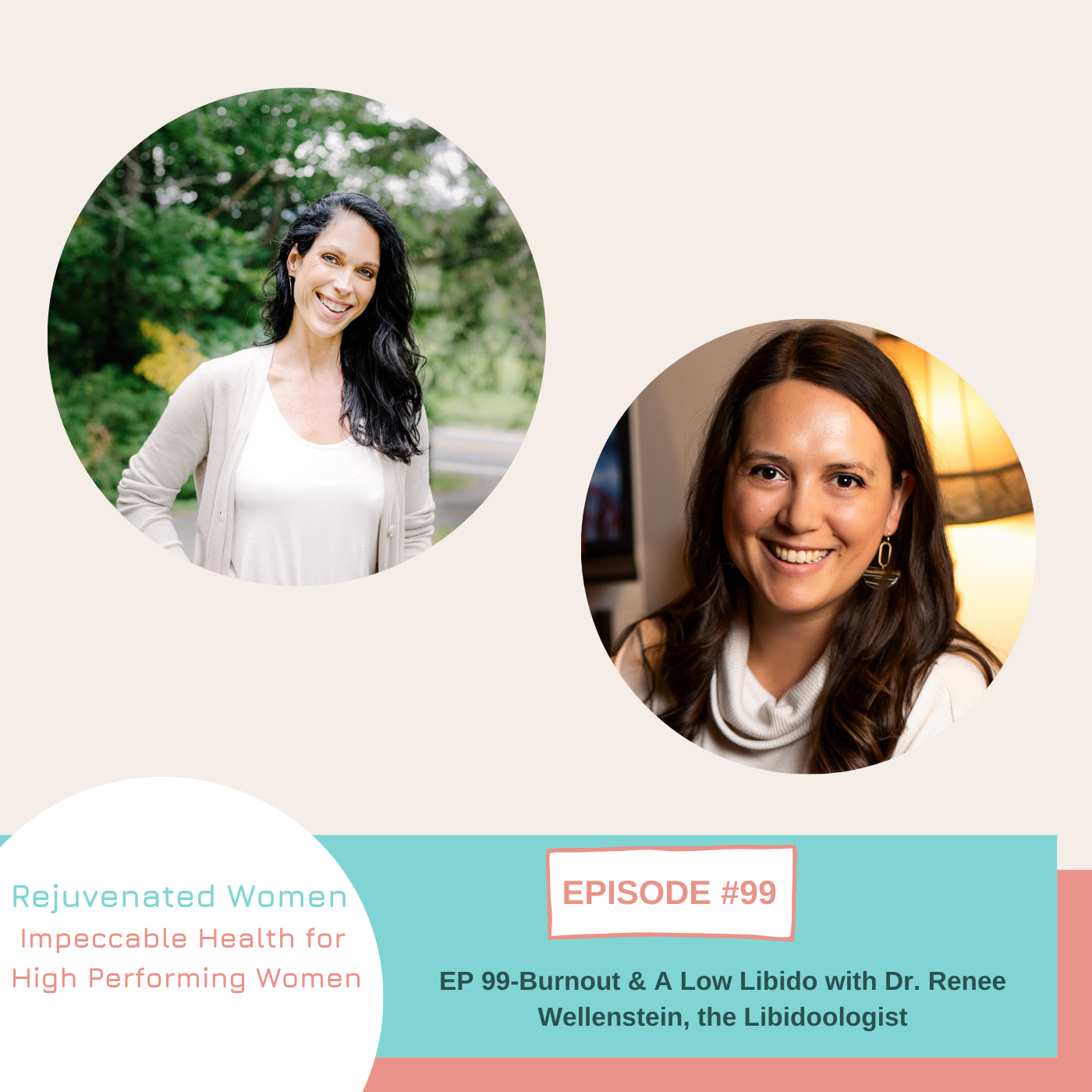 Artwork for podcast Emerge: The Health Podcast for Busy, High Performing Women