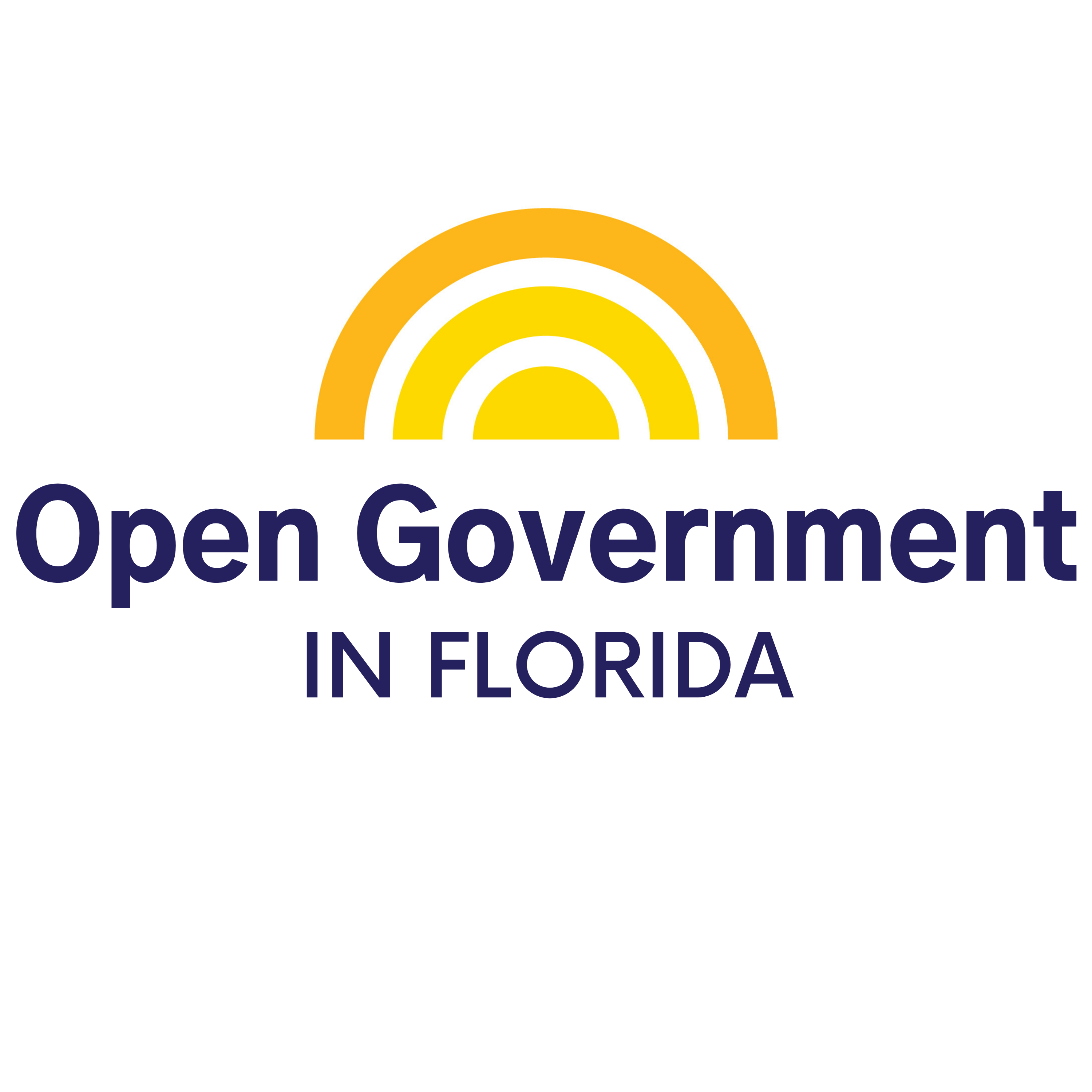 Artwork for podcast Open Government in Florida