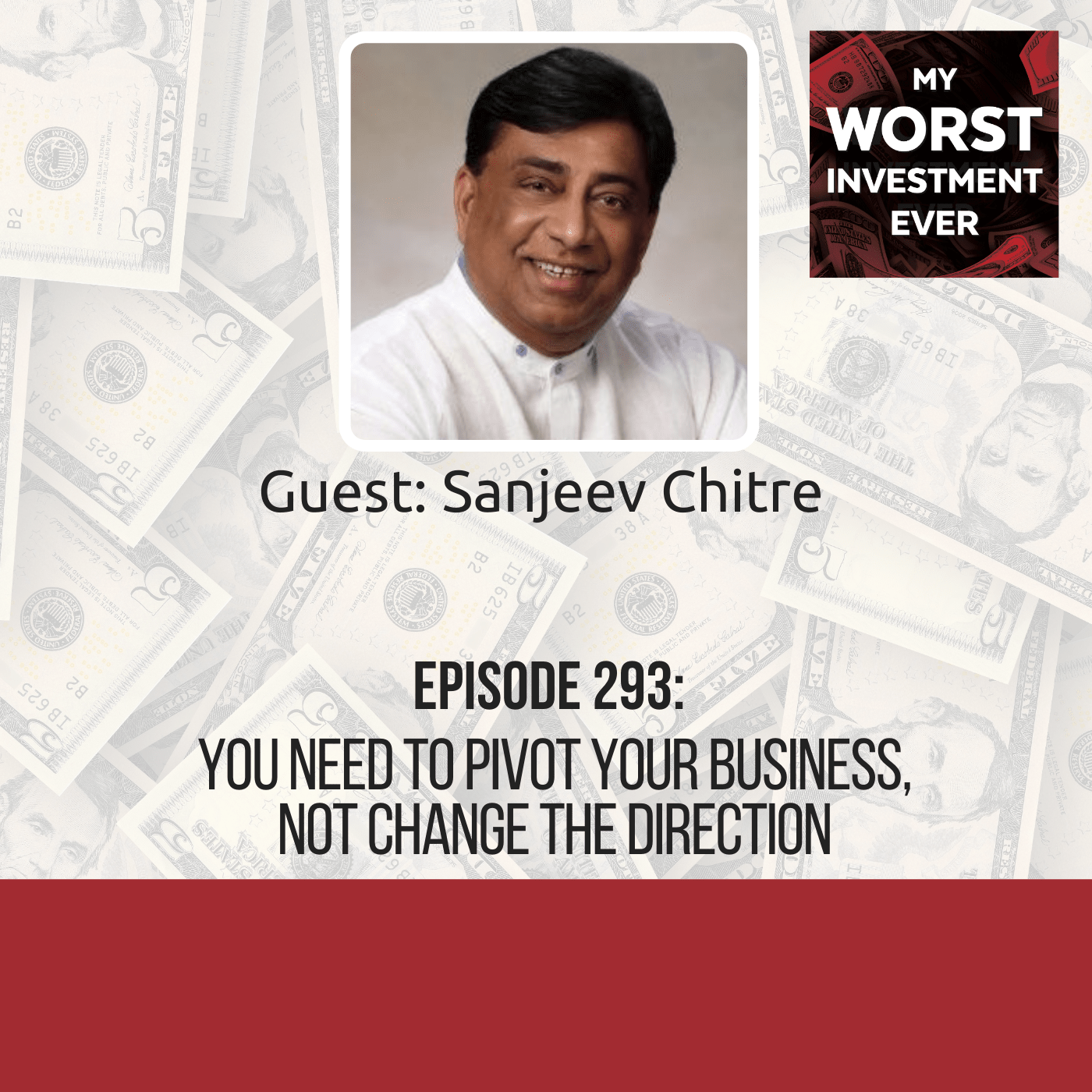 Sanjeev Chitre – You Need to Pivot Your Business, Not Change the Direction