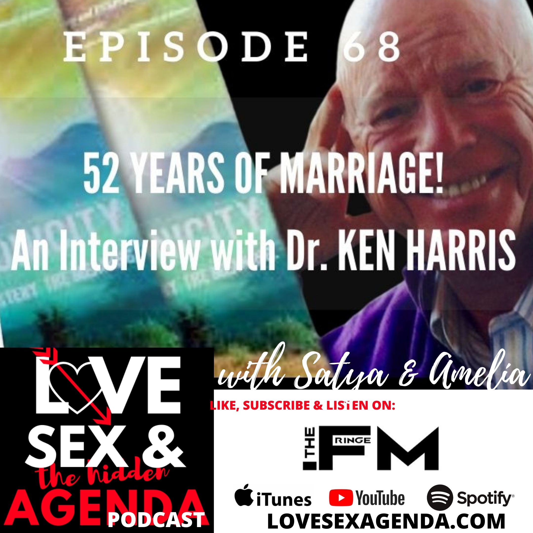 Artwork for podcast Love, Sex & The Hidden Agenda