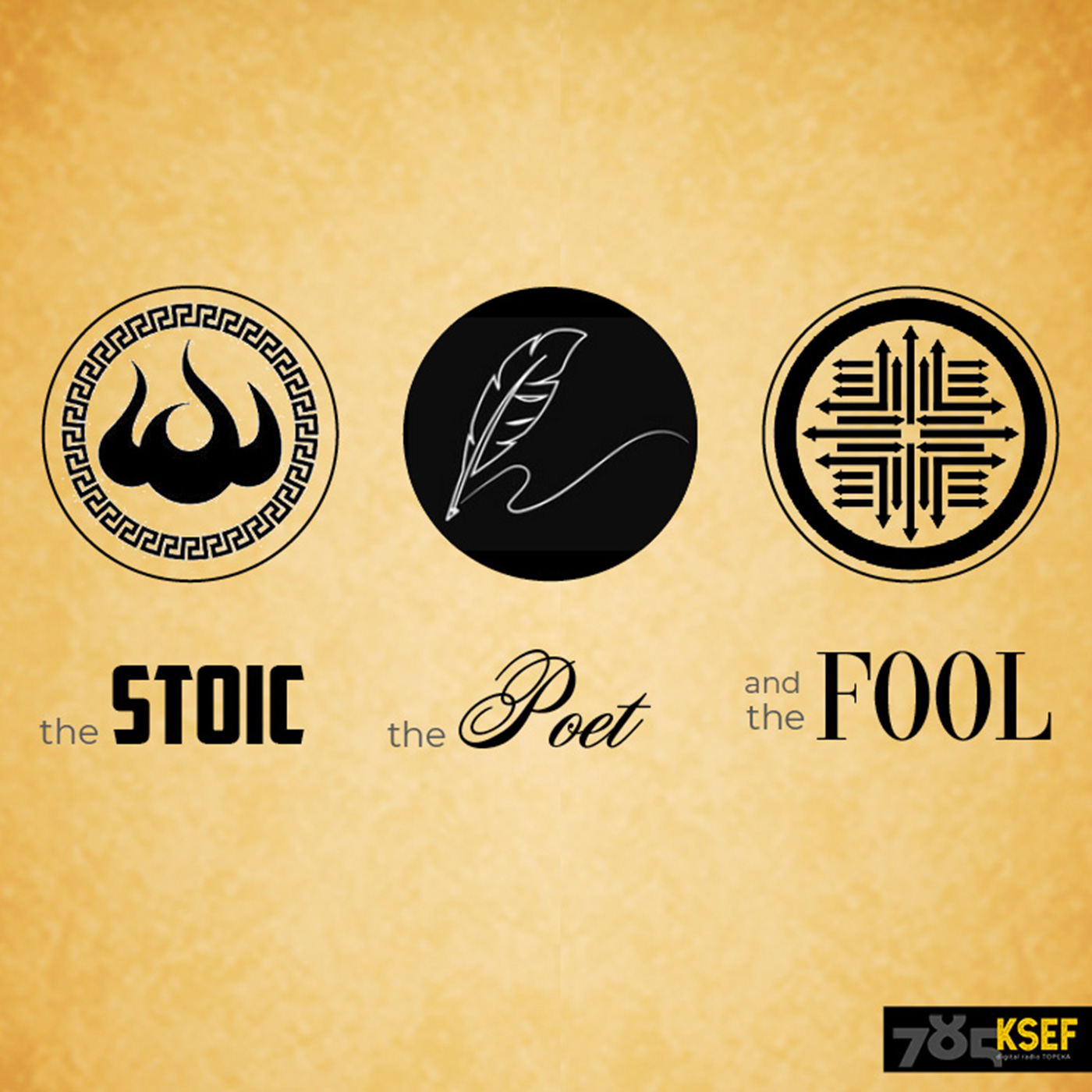 Artwork for podcast Stoic, Poet and The Fool