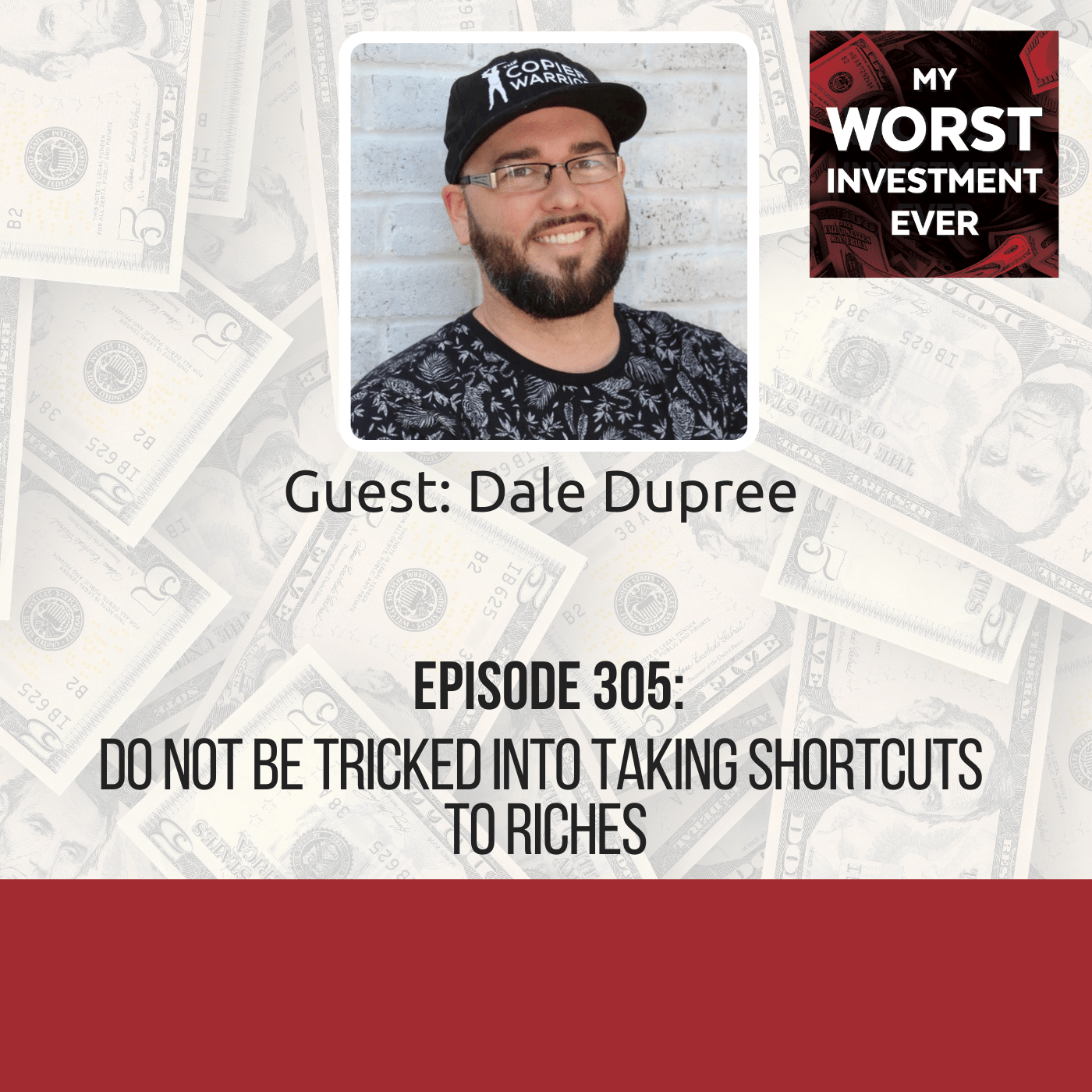 Dale Dupree – Do Not Be Tricked Into Taking Shortcuts to Riches