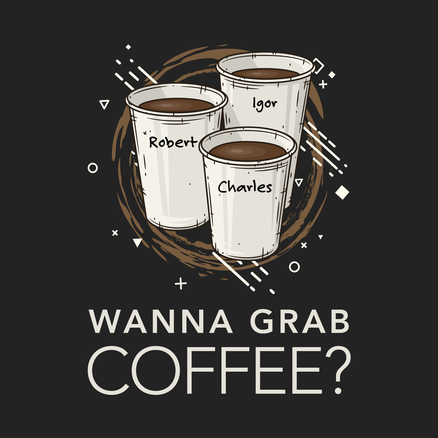 Show artwork for Wanna Grab Coffee?