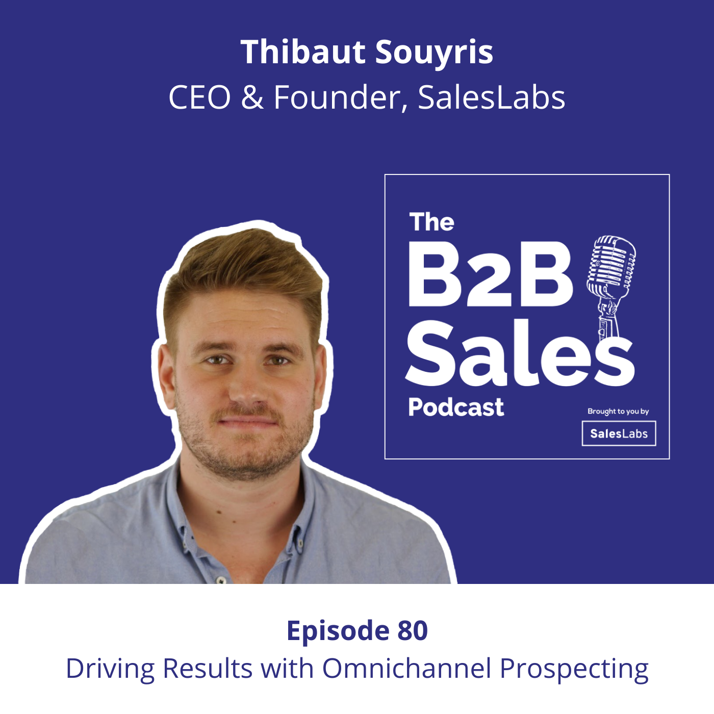 Artwork for podcast The B2B Sales Podcast