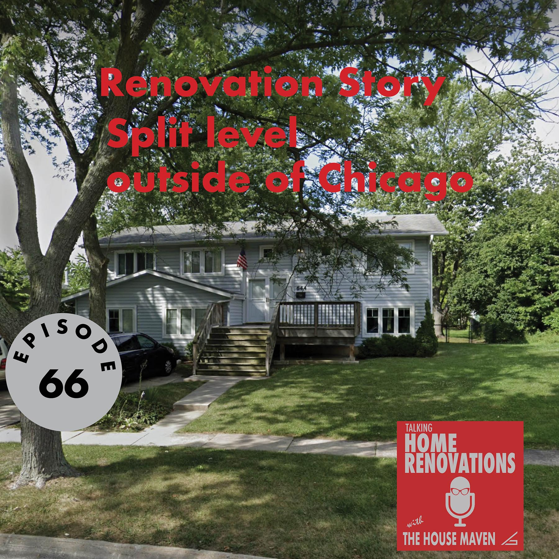 Artwork for podcast Talking Home Renovations with the House Maven