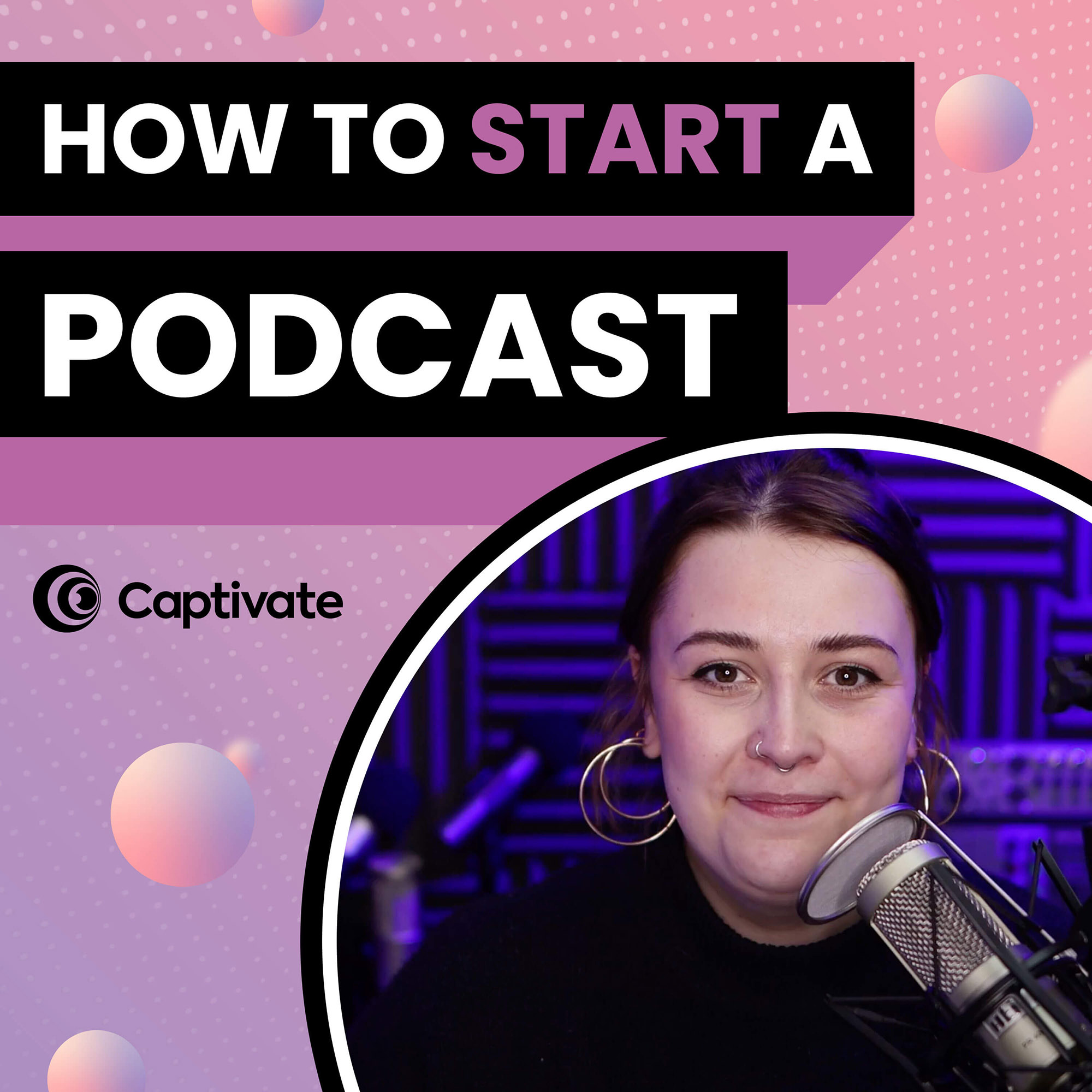 Artwork for podcast How to Start A Podcast [2022 update]