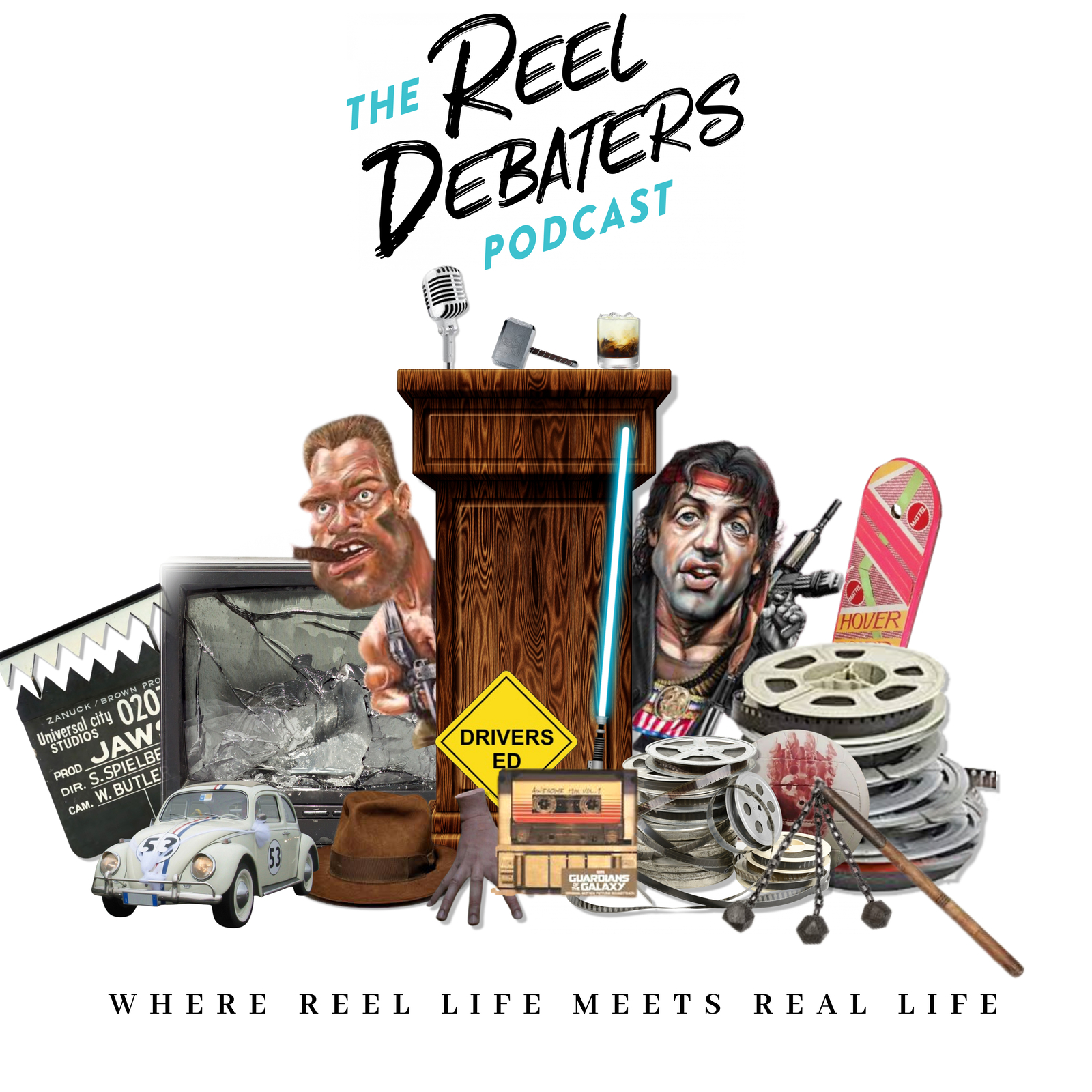 Show artwork for THE REEL DEBATERS PODCAST
