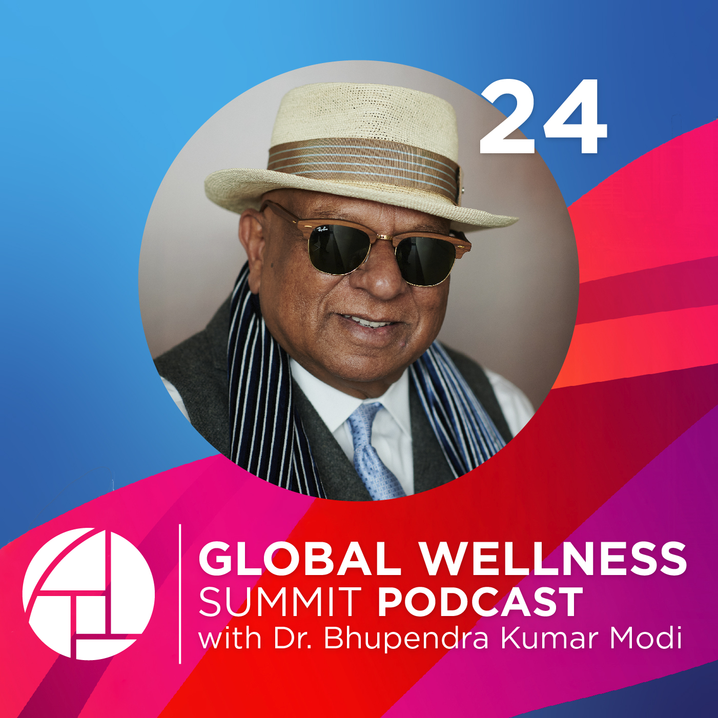 24. Creating a Happy, Healthy, & Wealthy Future Where Everyone Can Live Beyond 100 - with Dr. Bhupendra Kumar Modi from Smart Group