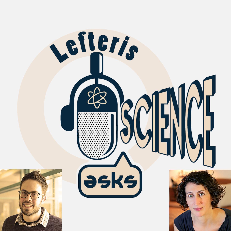 Artwork for podcast Lefteris asks science