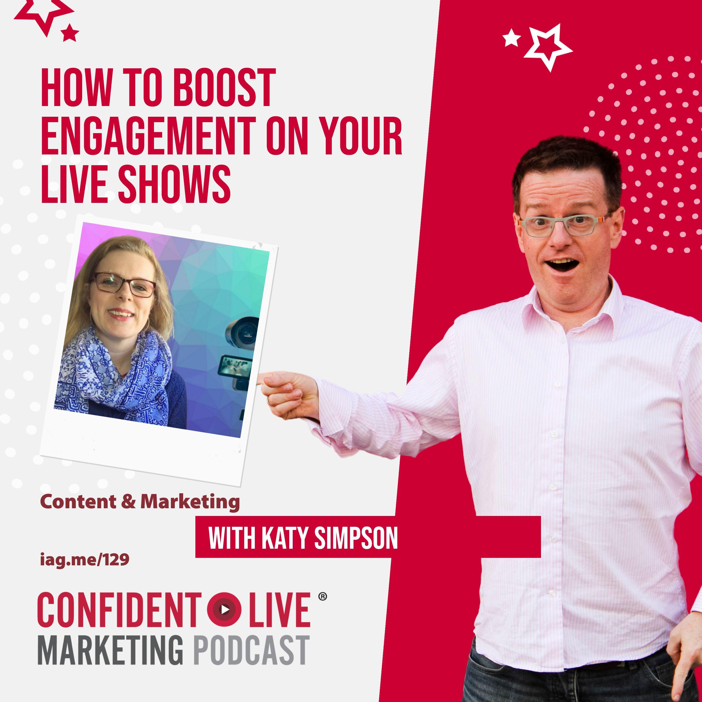 Artwork for podcast Confident Live Marketing Show