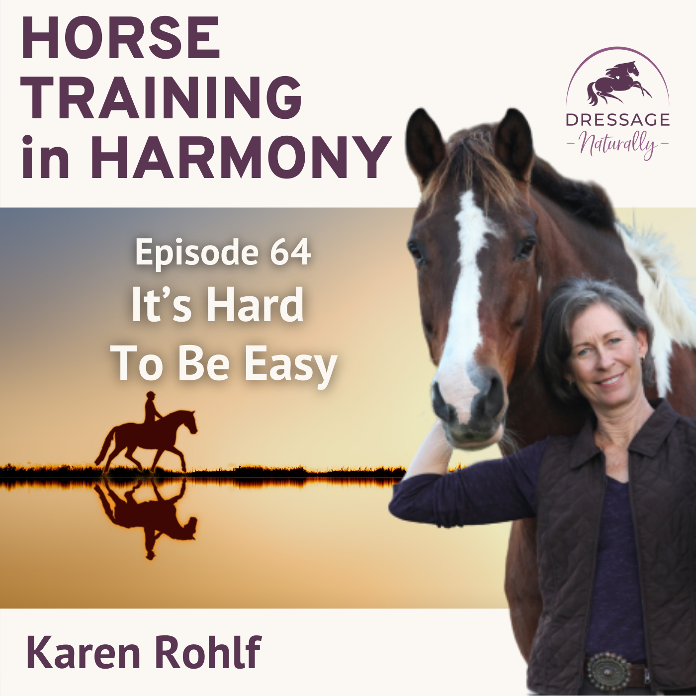 Artwork for podcast Horse Training in Harmony