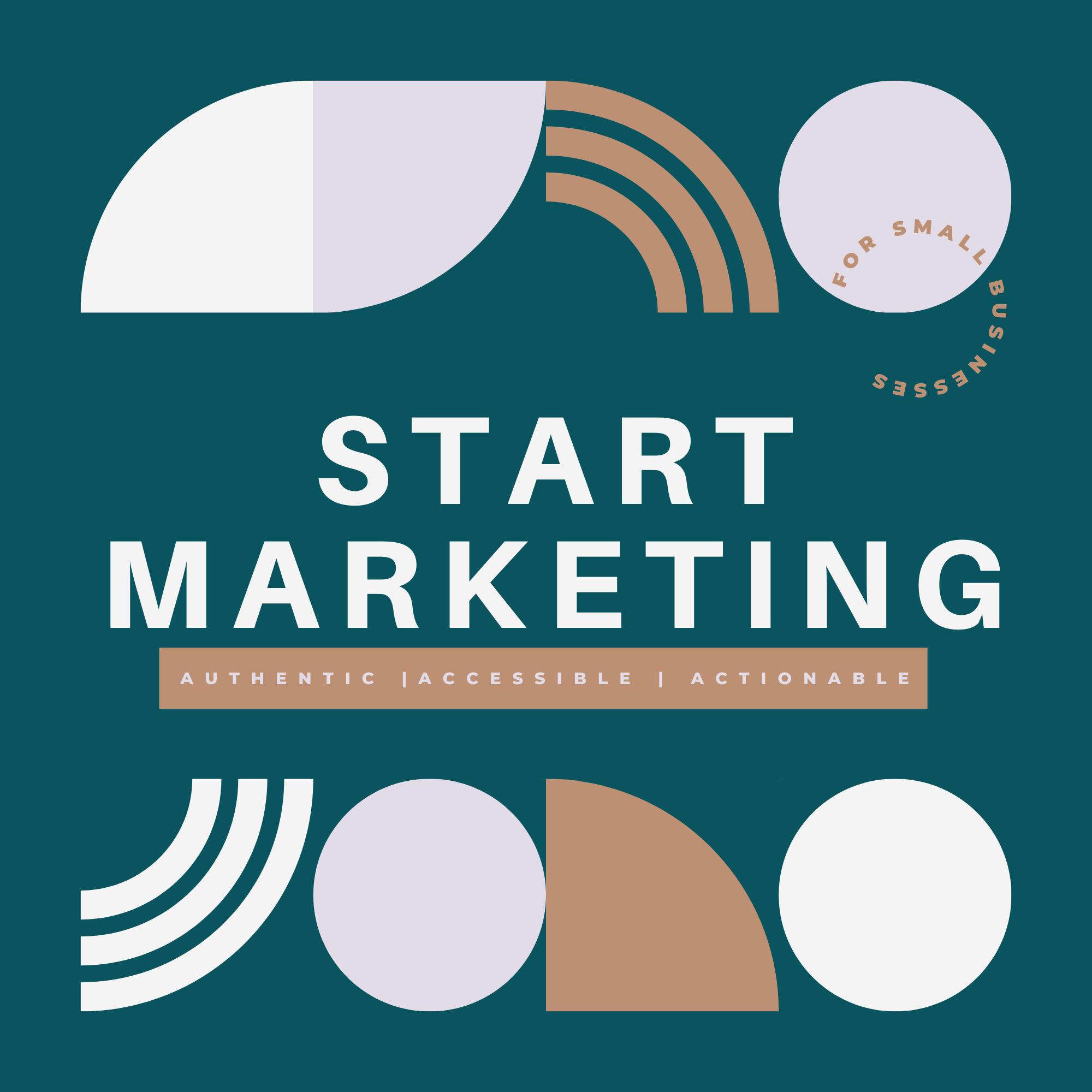 Artwork for podcast Start Marketing