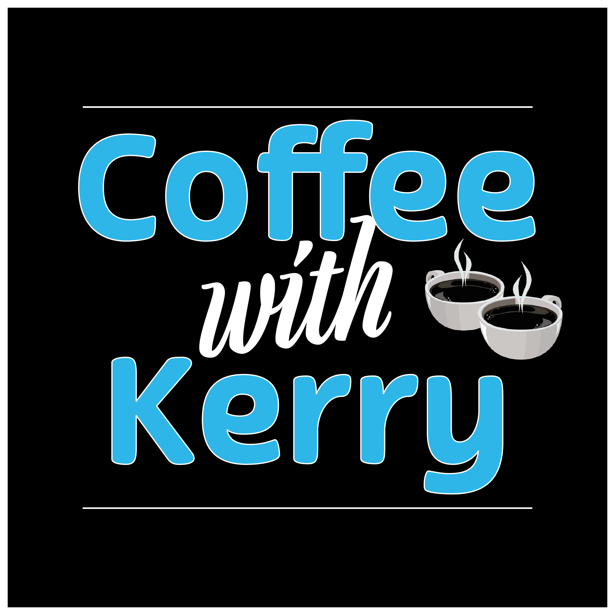 Artwork for podcast Coffee with Kerry