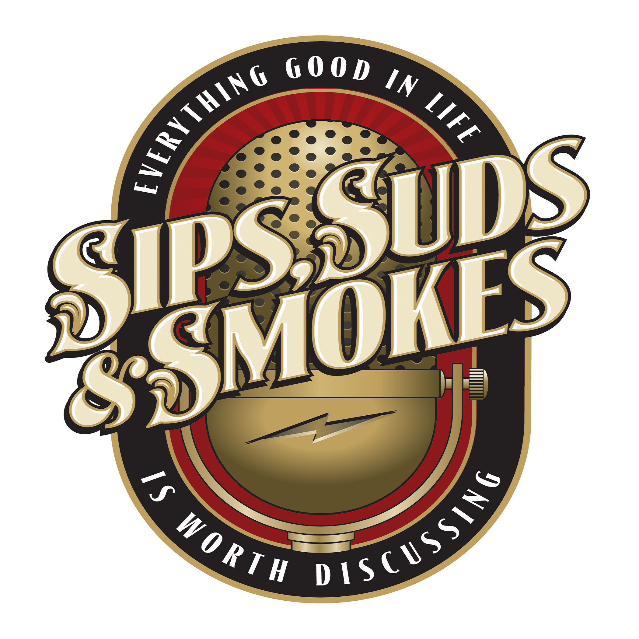 Show artwork for Sips, Suds, & Smokes