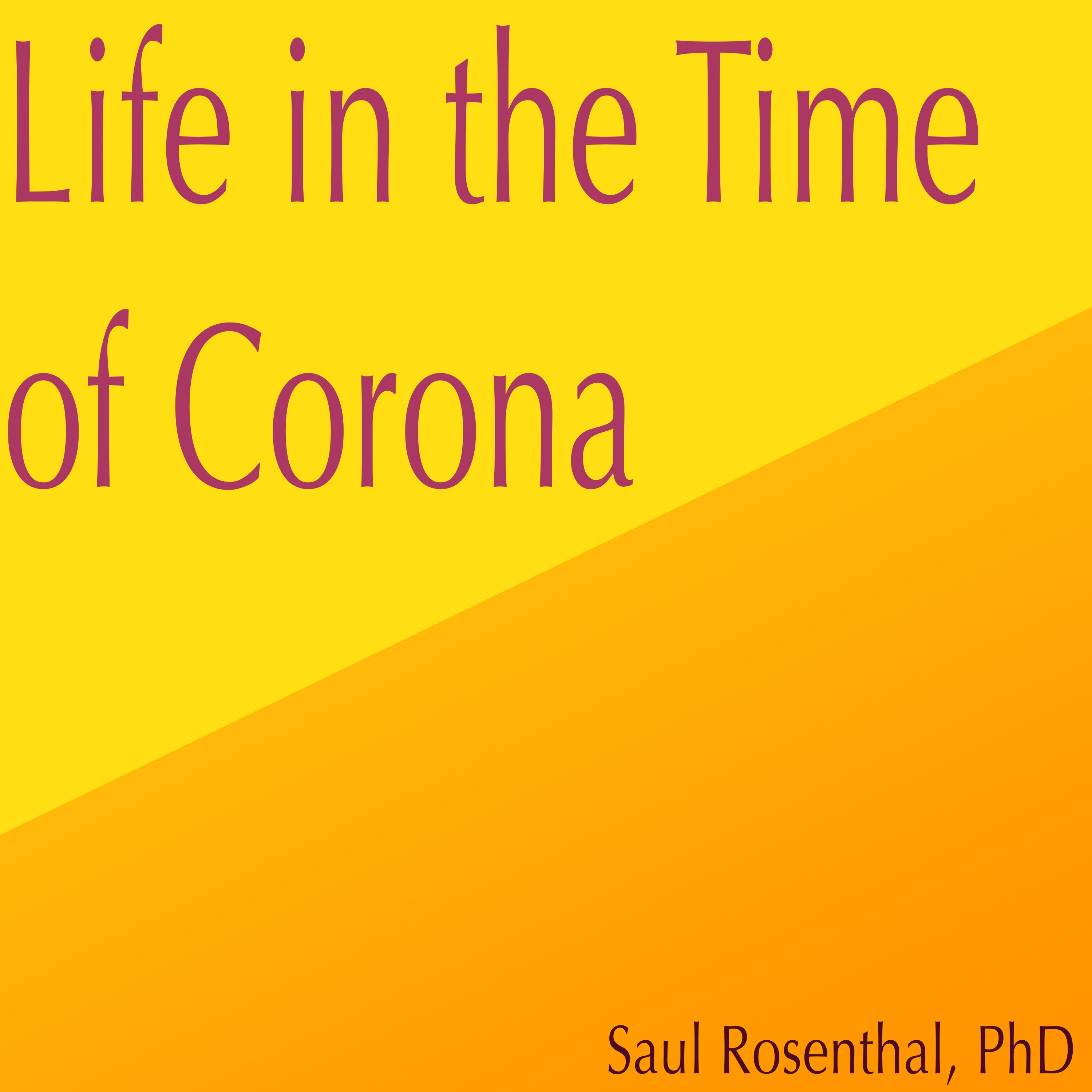 Artwork for podcast Life in the Time of Corona