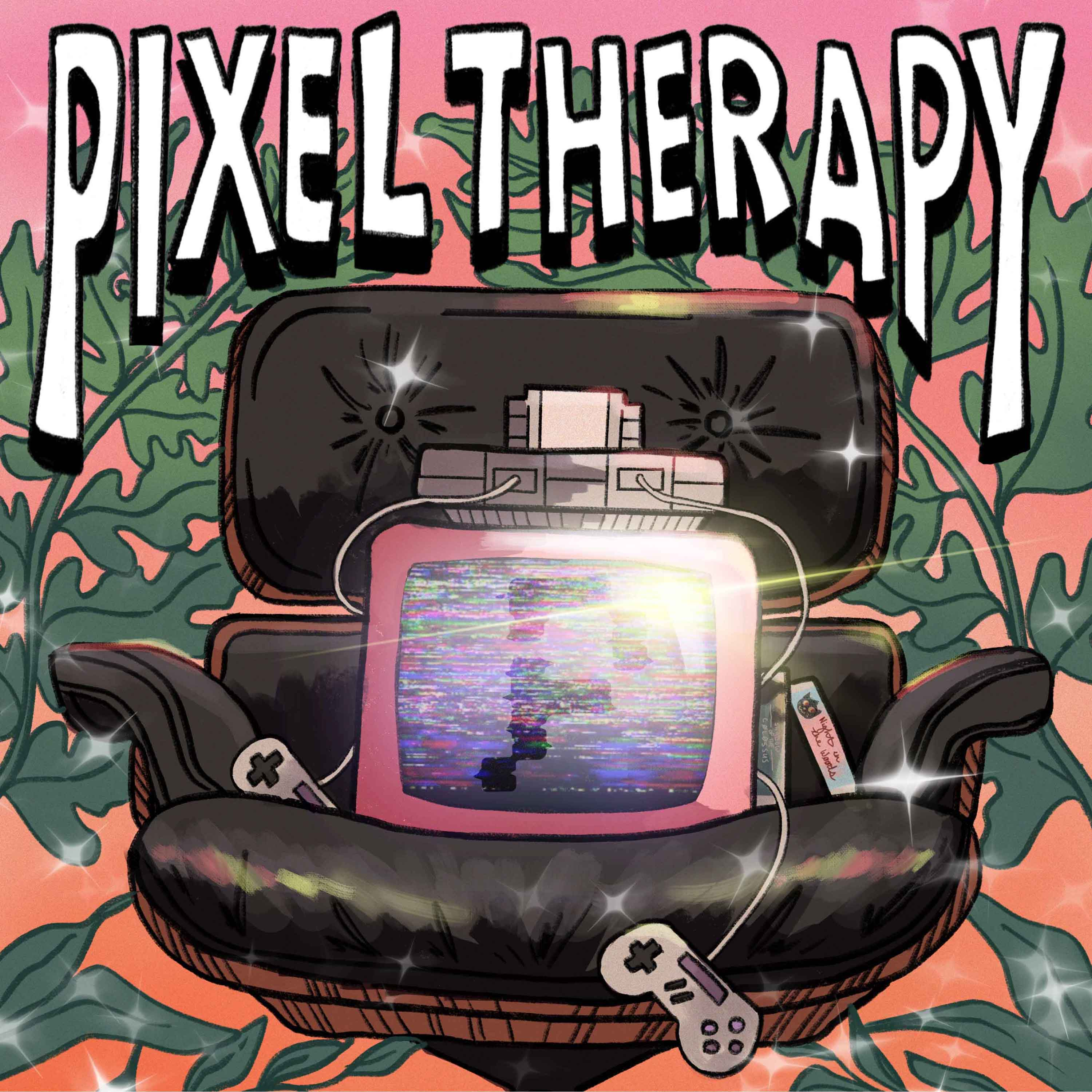 Artwork for podcast Pixel Therapy Pod