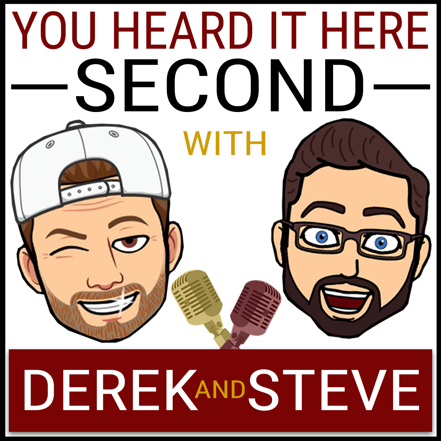 Artwork for podcast You Heard It Here Second