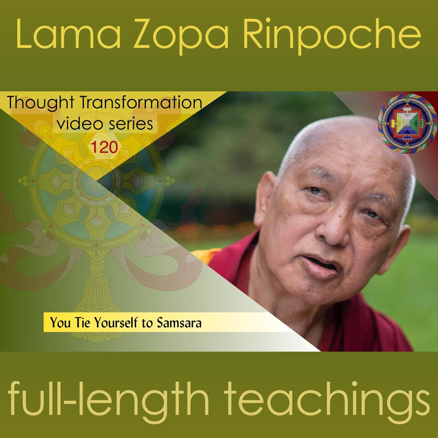 120 You Tie Yourself to Samsara