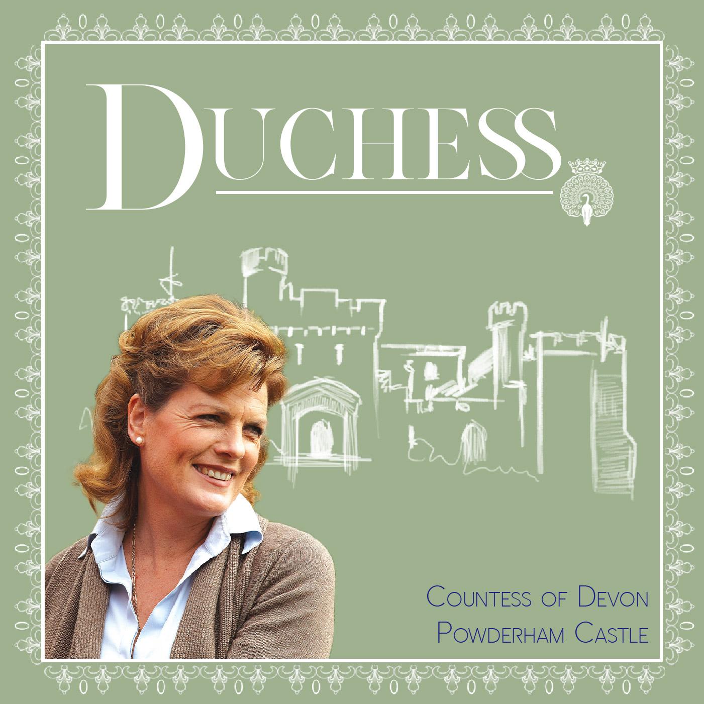 The Countess of Devon at Powderham Castle