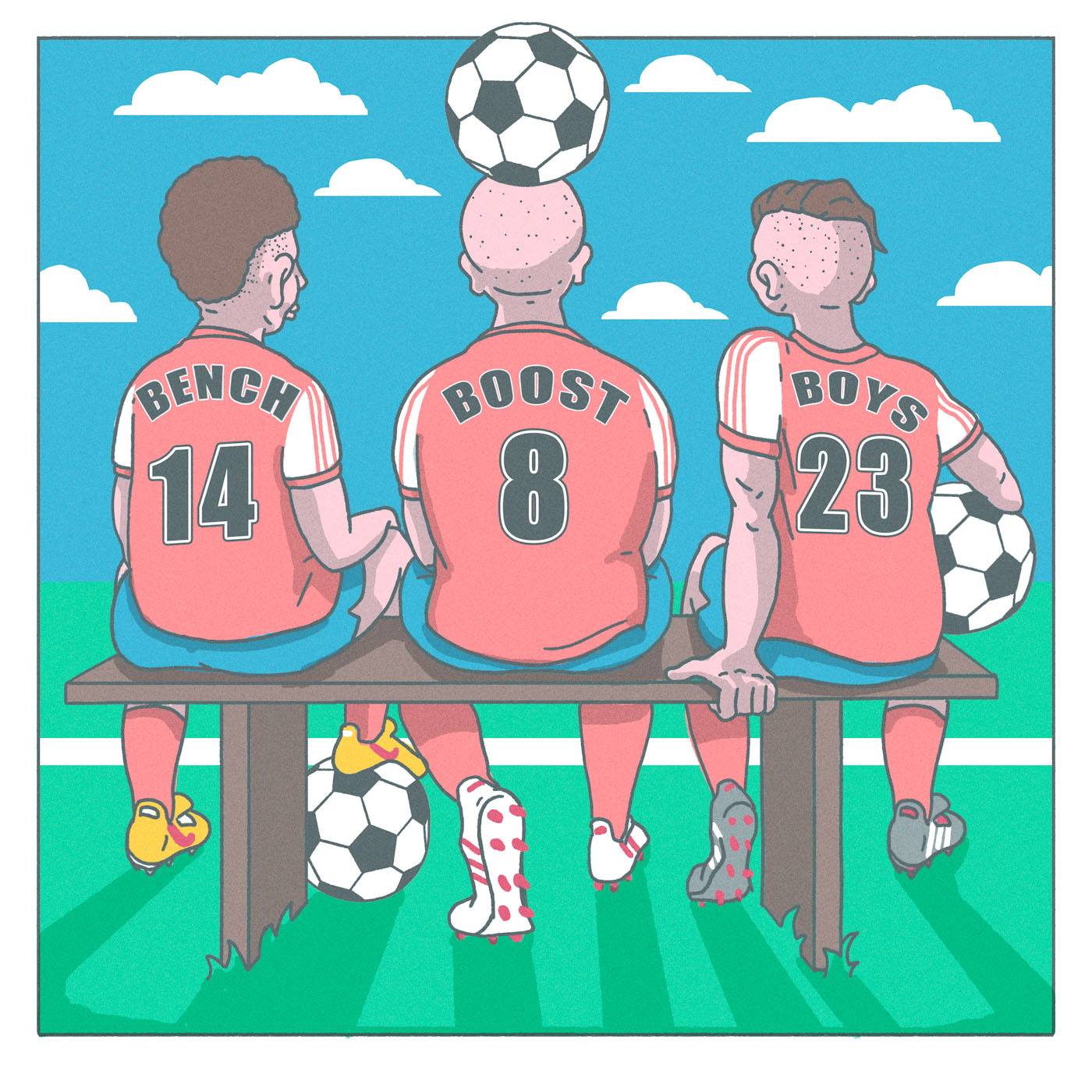 Show artwork for Bench Boost Boys