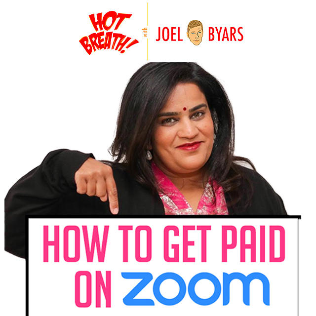 How to Book Paid Zoom Shows with Zarna Garg - Comedy Podcast