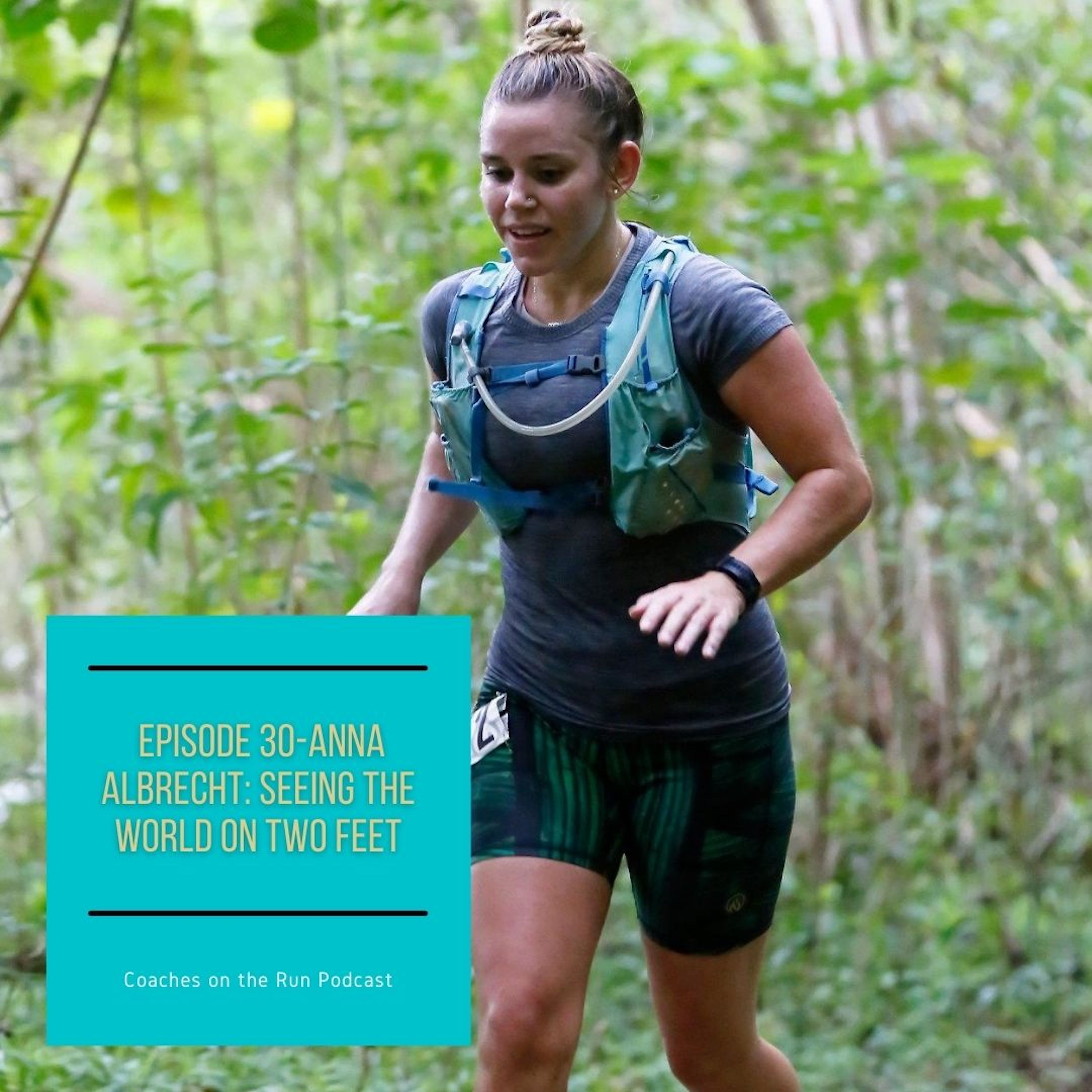 Anna Albrecht: Seeing the World on Two Feet