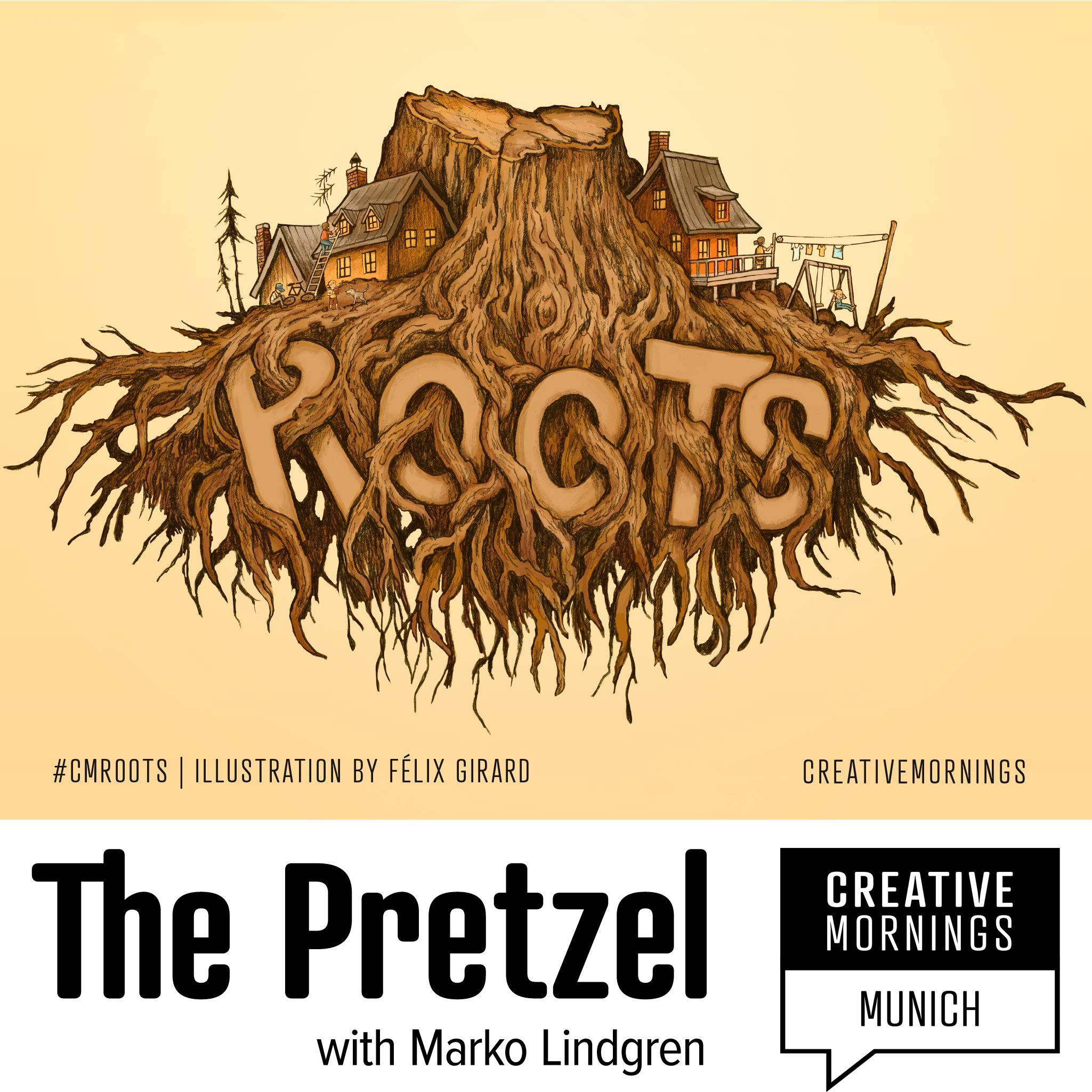 Artwork for podcast The Pretzel, The Creative Munich Podcast