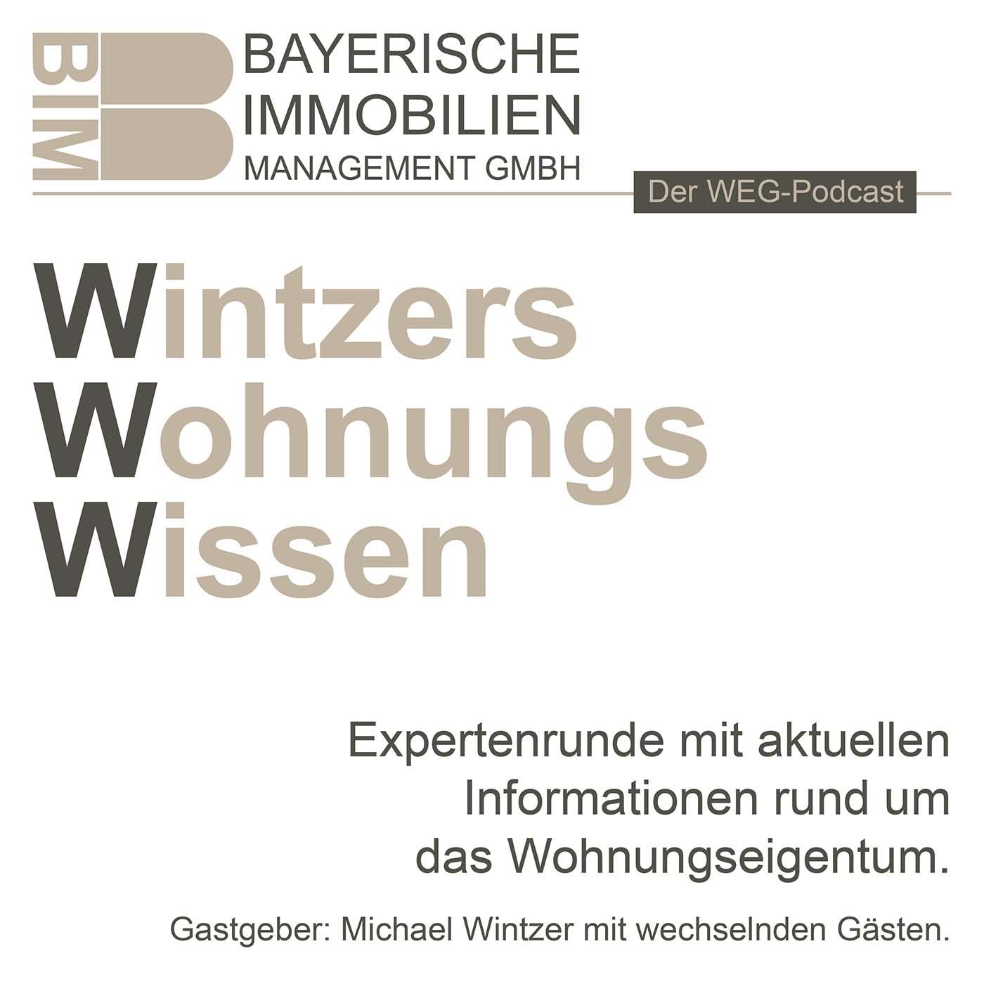 Artwork for podcast Wintzers Wohnungs Wissen, Immobilie kaufen, Eigentum erwerben, vermieten