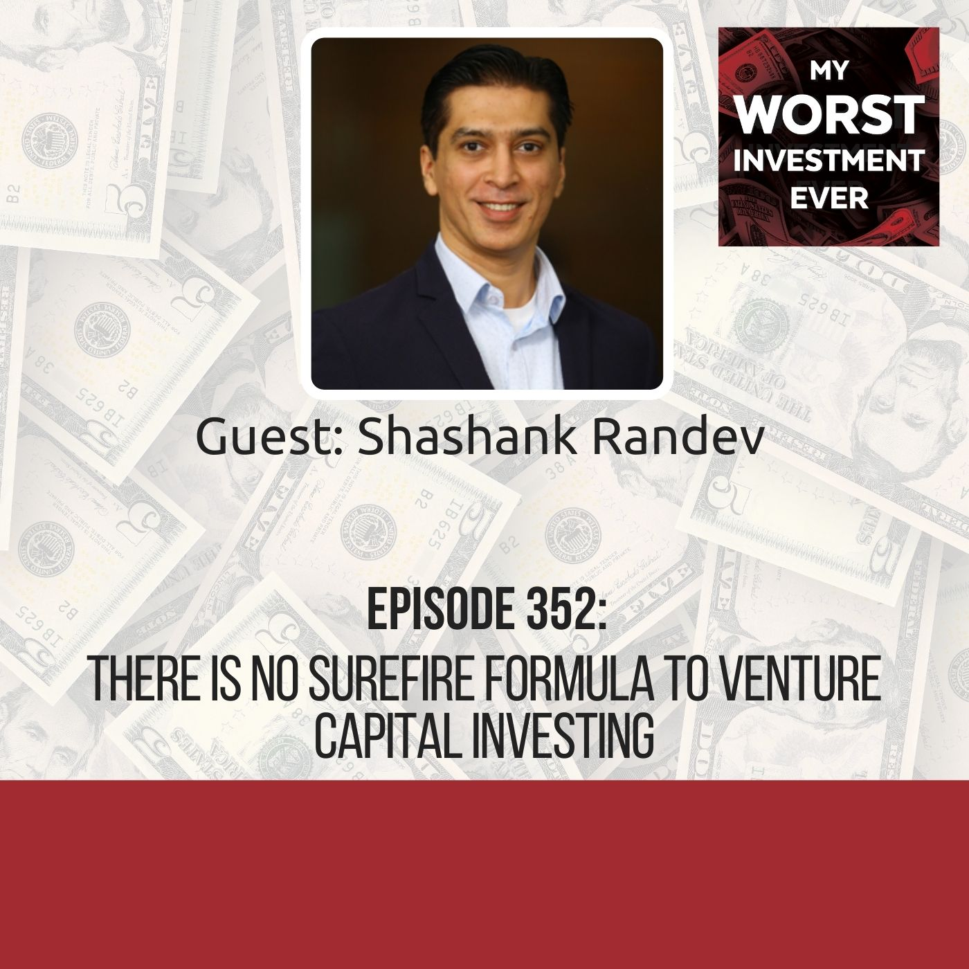 Shashank Randev – There Is No Surefire Formula to Venture Capital Investing