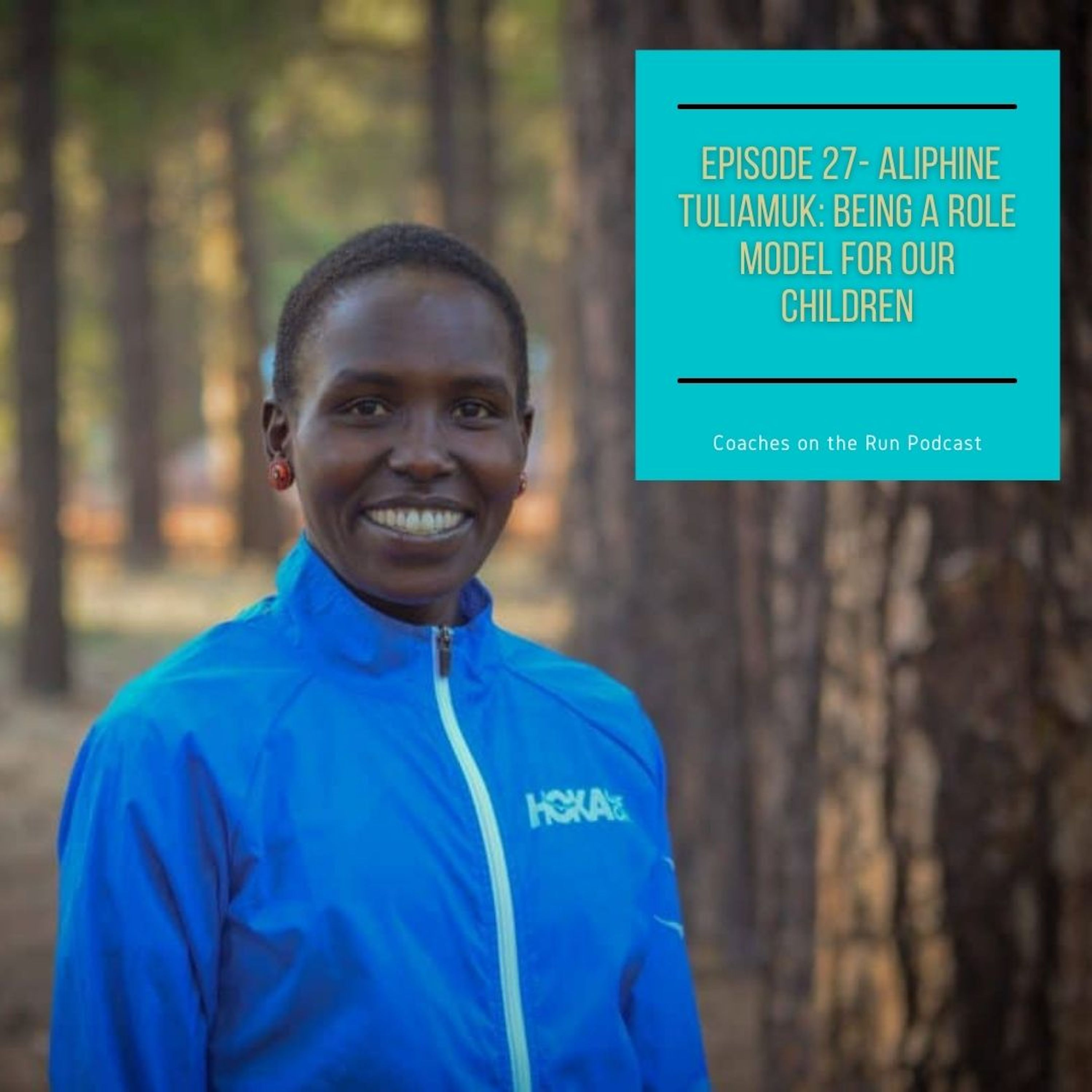 Aliphine Tuliamuk: Being A Role Model For Our Children
