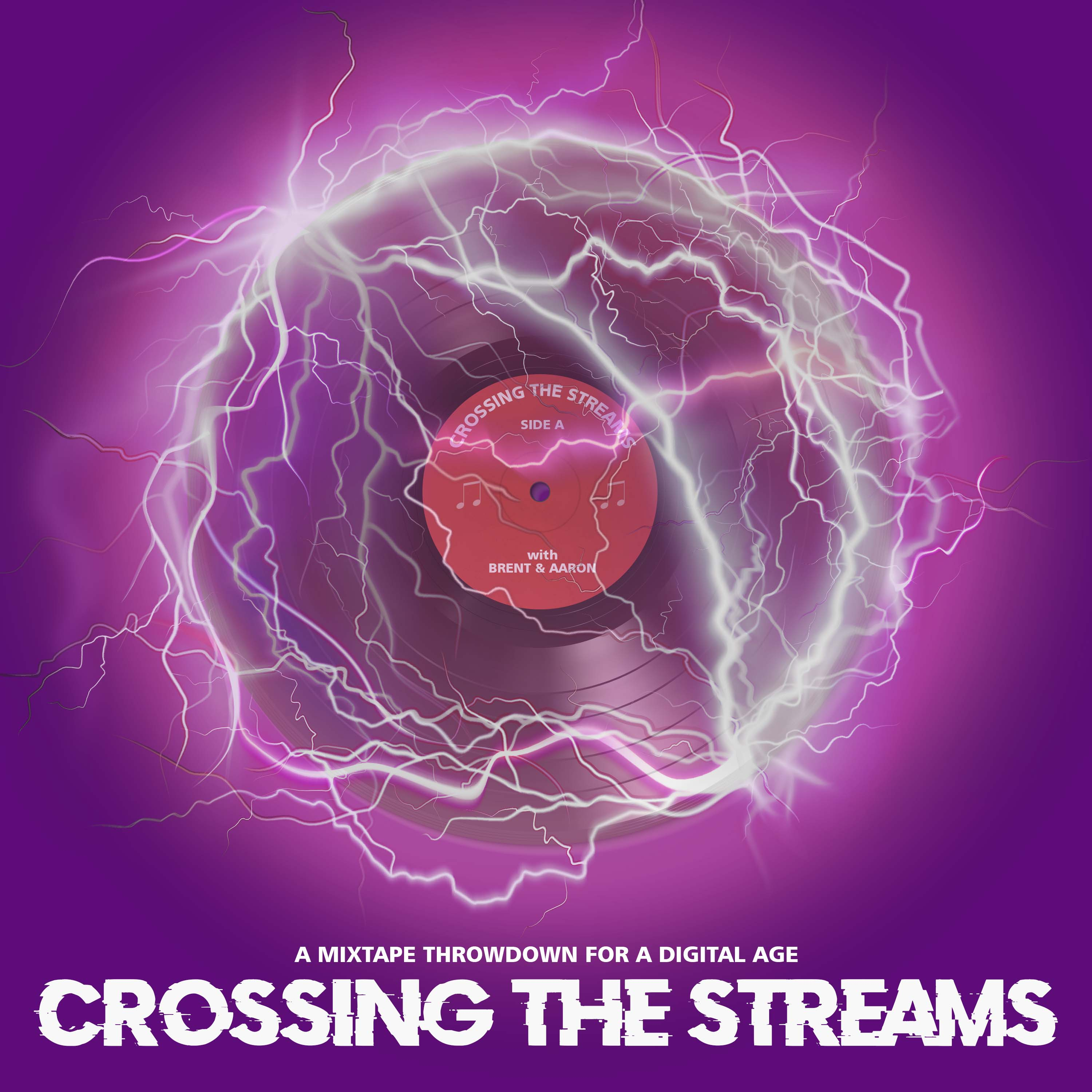Artwork for podcast Crossing the Streams with Brent and Aaron