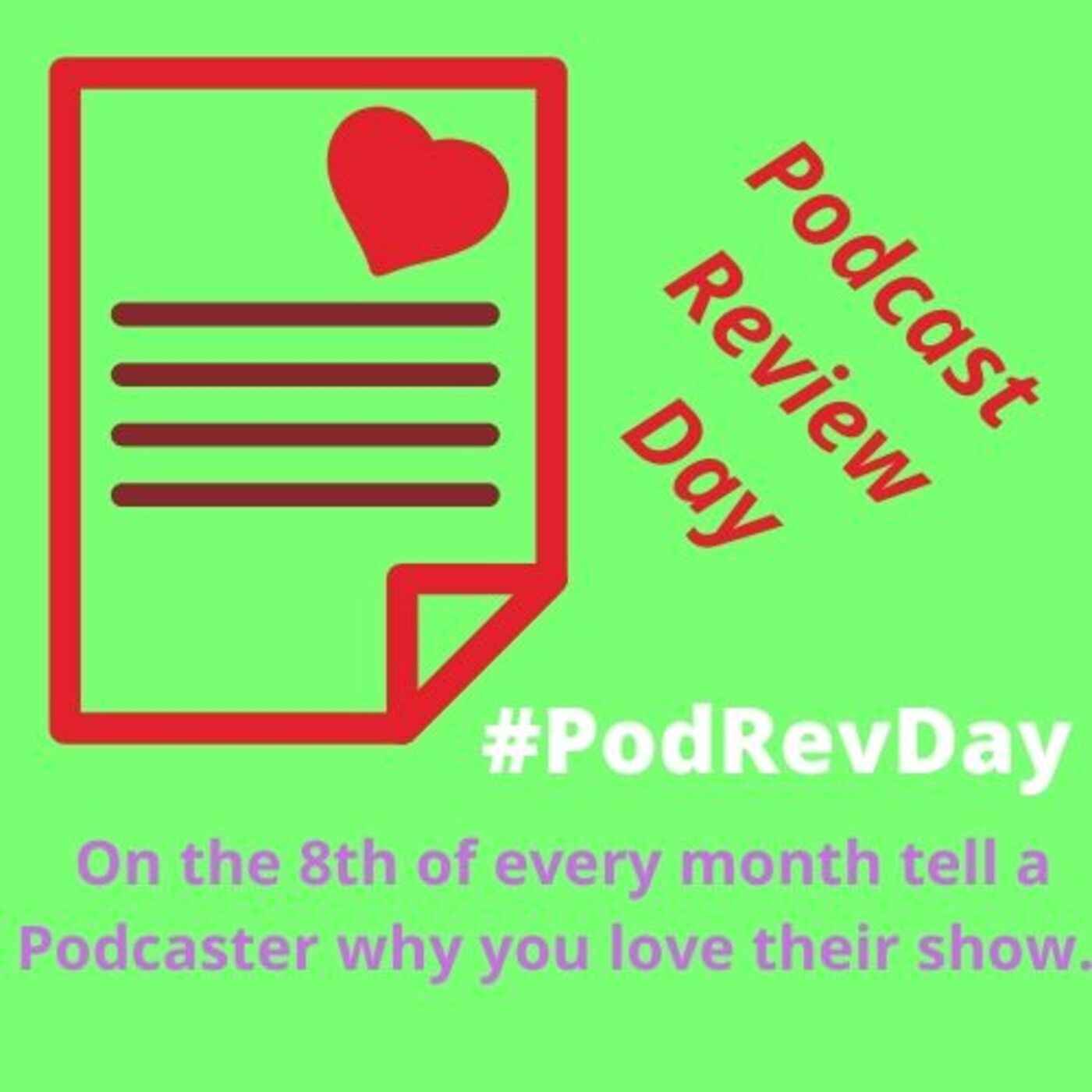 Show artwork for Podcast Review Day, PodRevDay