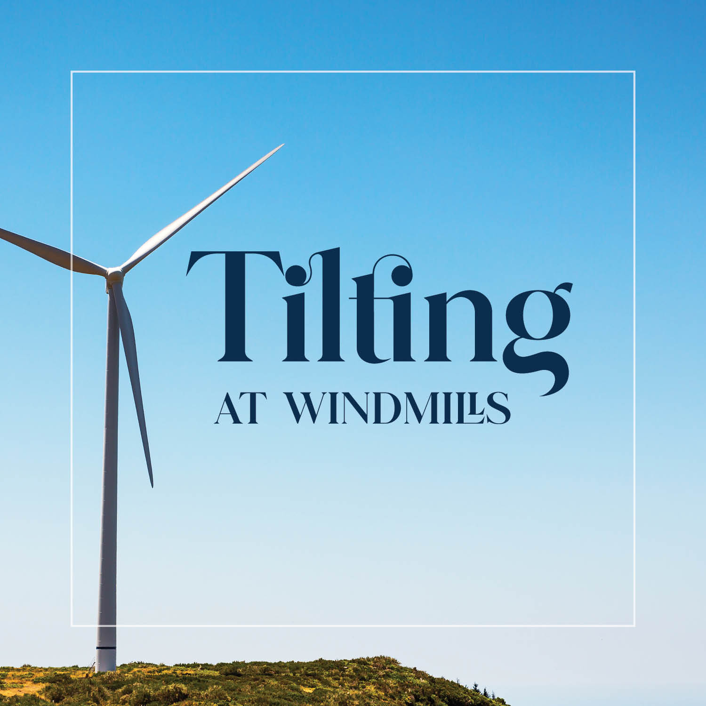 Show artwork for Tilting at Windmills