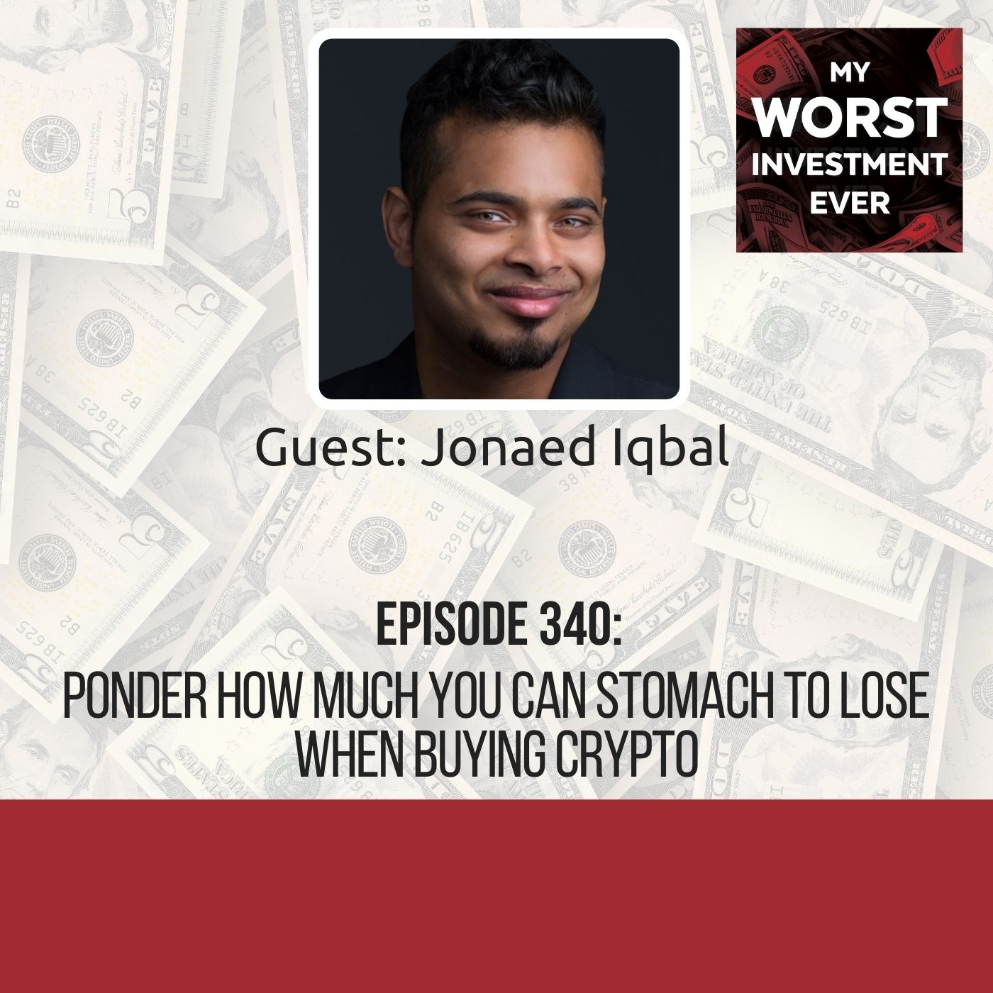 Jonaed Iqbal – Ponder How Much You Can Stomach to Lose When Buying Crypto