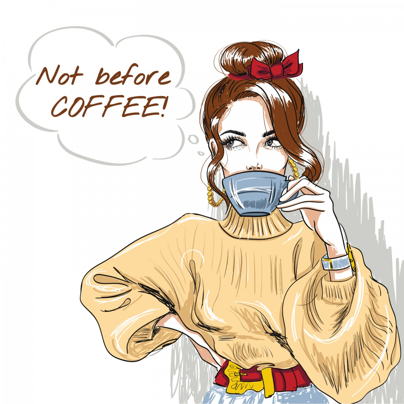 Artwork for podcast Not Before Coffee!