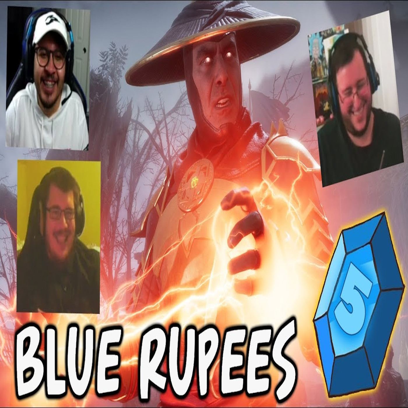 Artwork for podcast The Blue Rupees Podcast
