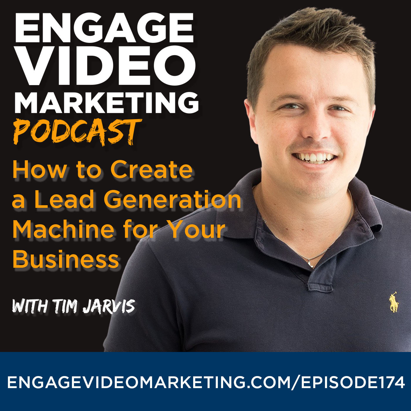Artwork for podcast Engage Video Marketing Podcast