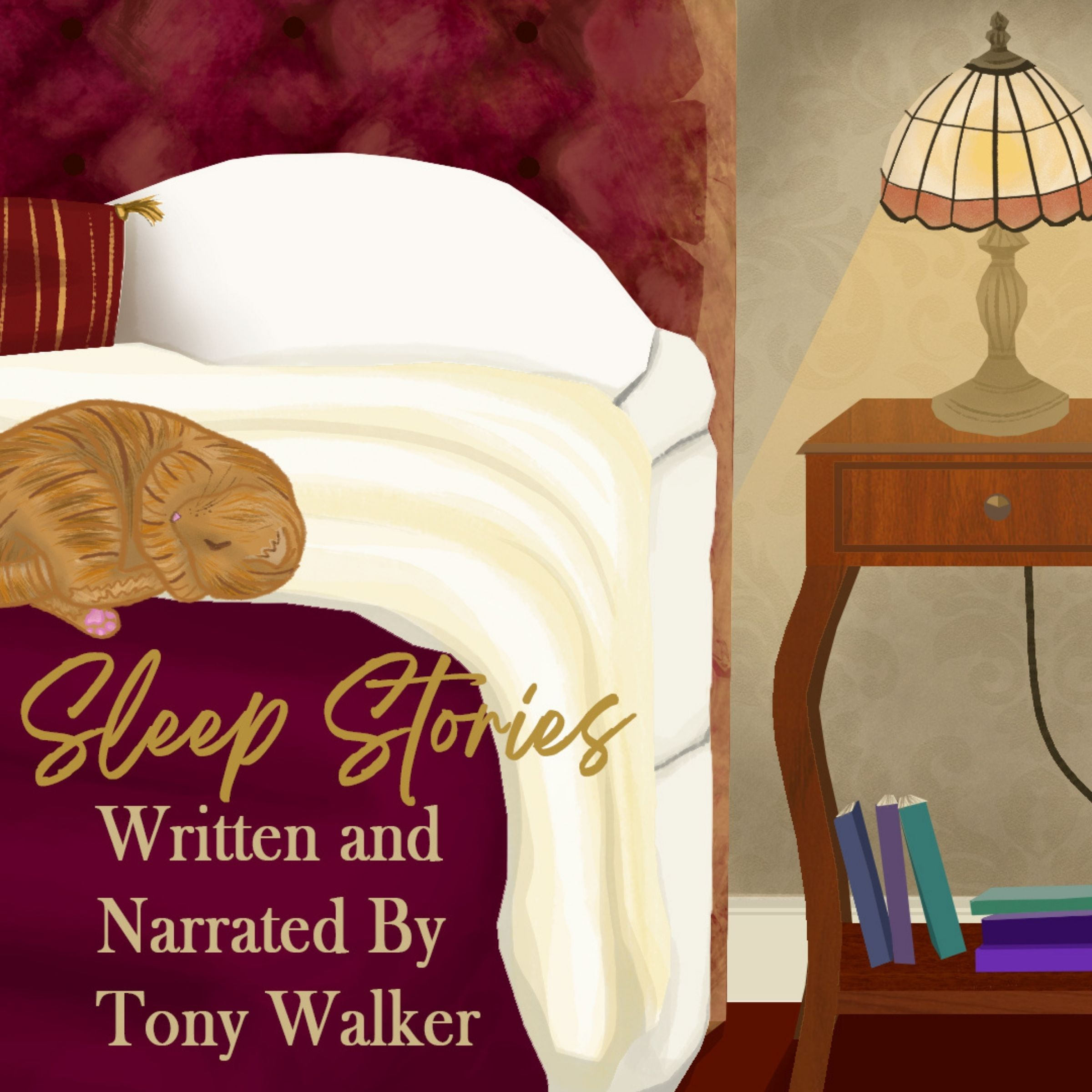 Show artwork for Sleep Stories By Tony Walker