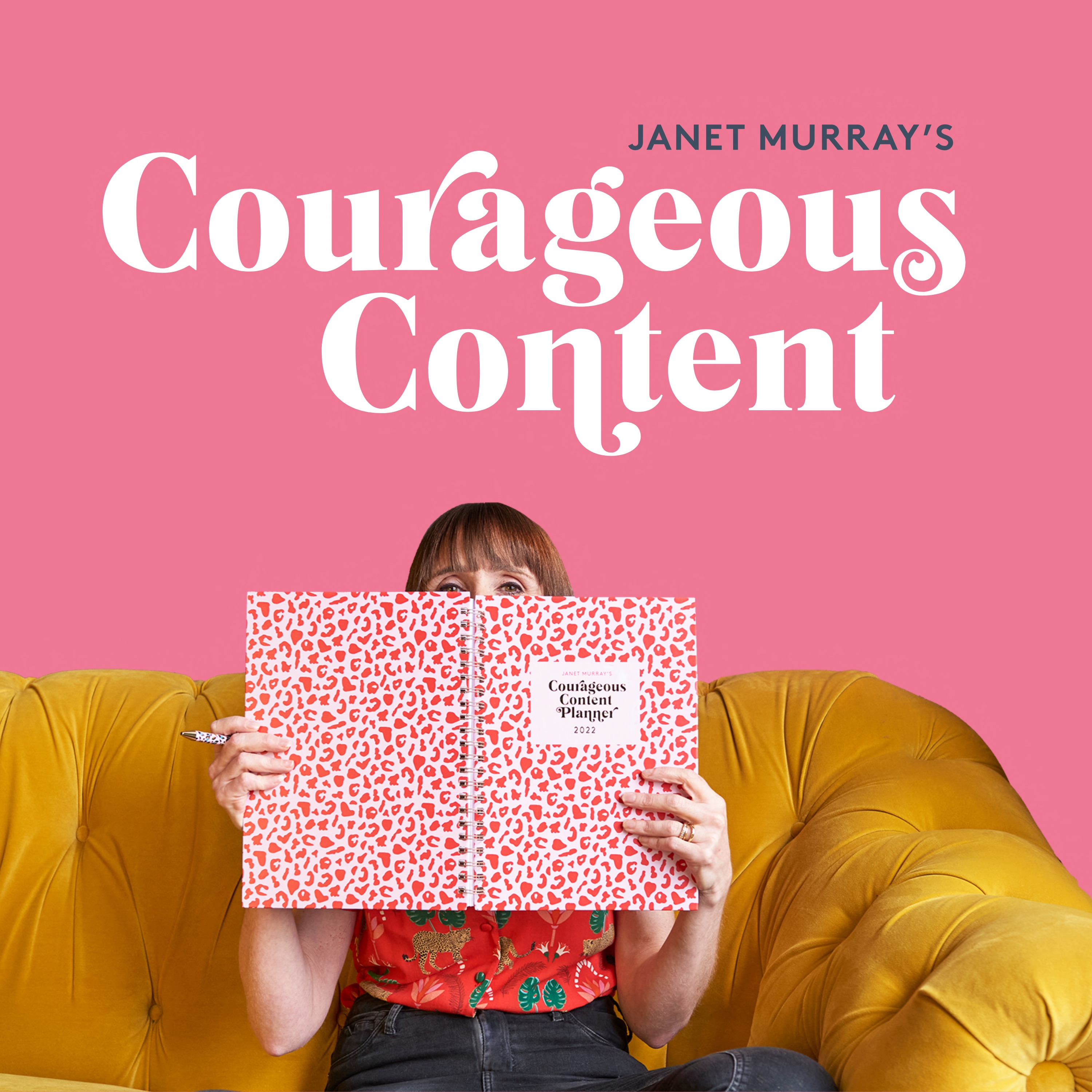 Show artwork for Courageous Content with Janet Murray