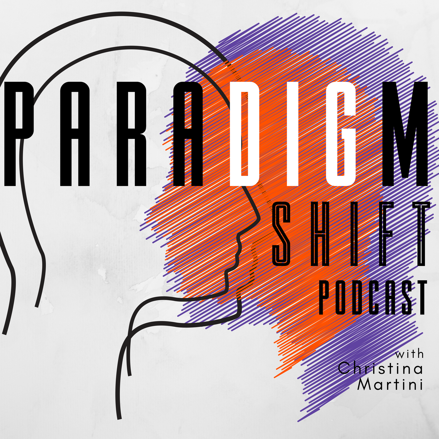Artwork for podcast Paradigm Shift with Christina Martini