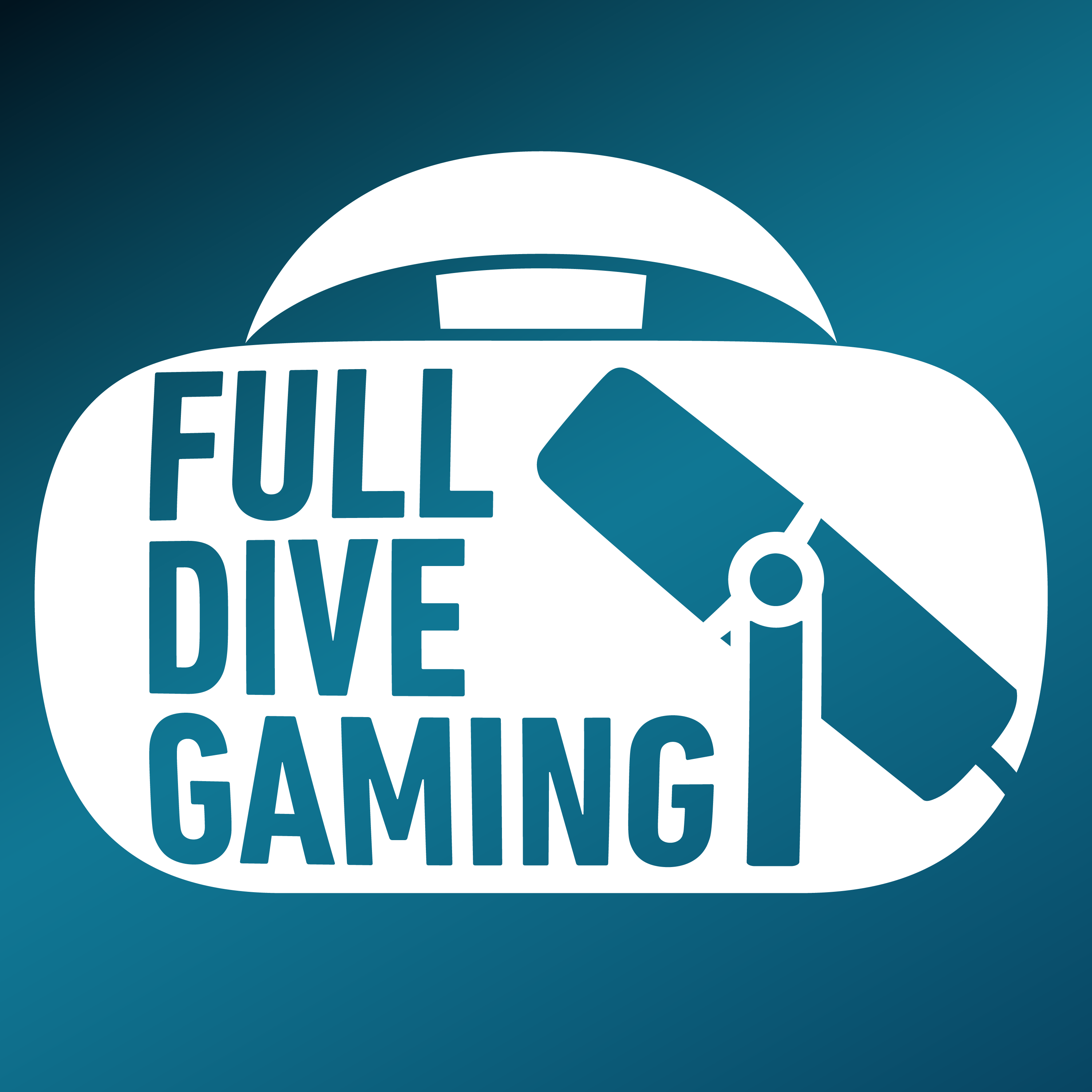 Artwork for podcast Full Dive Gaming: a Virtual Reality Podcast in VR