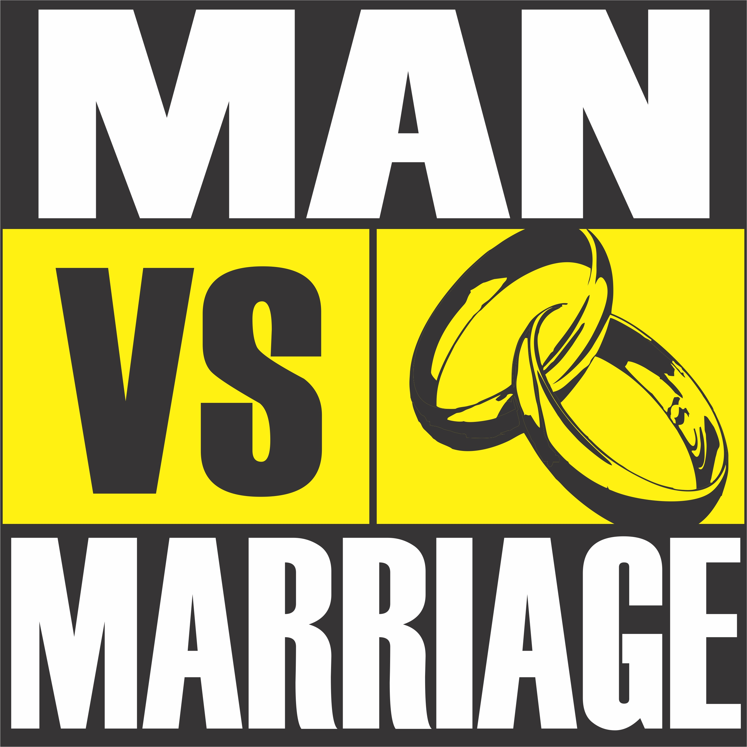 Artwork for podcast Man vs Marriage