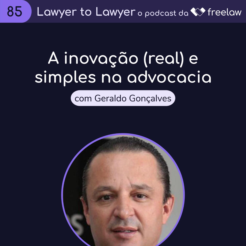 Artwork for podcast Lawyer to Lawyer, da Freelaw