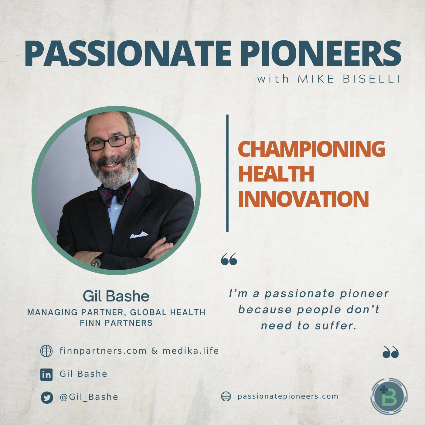 Championing Health Innovation with Gil Bashe