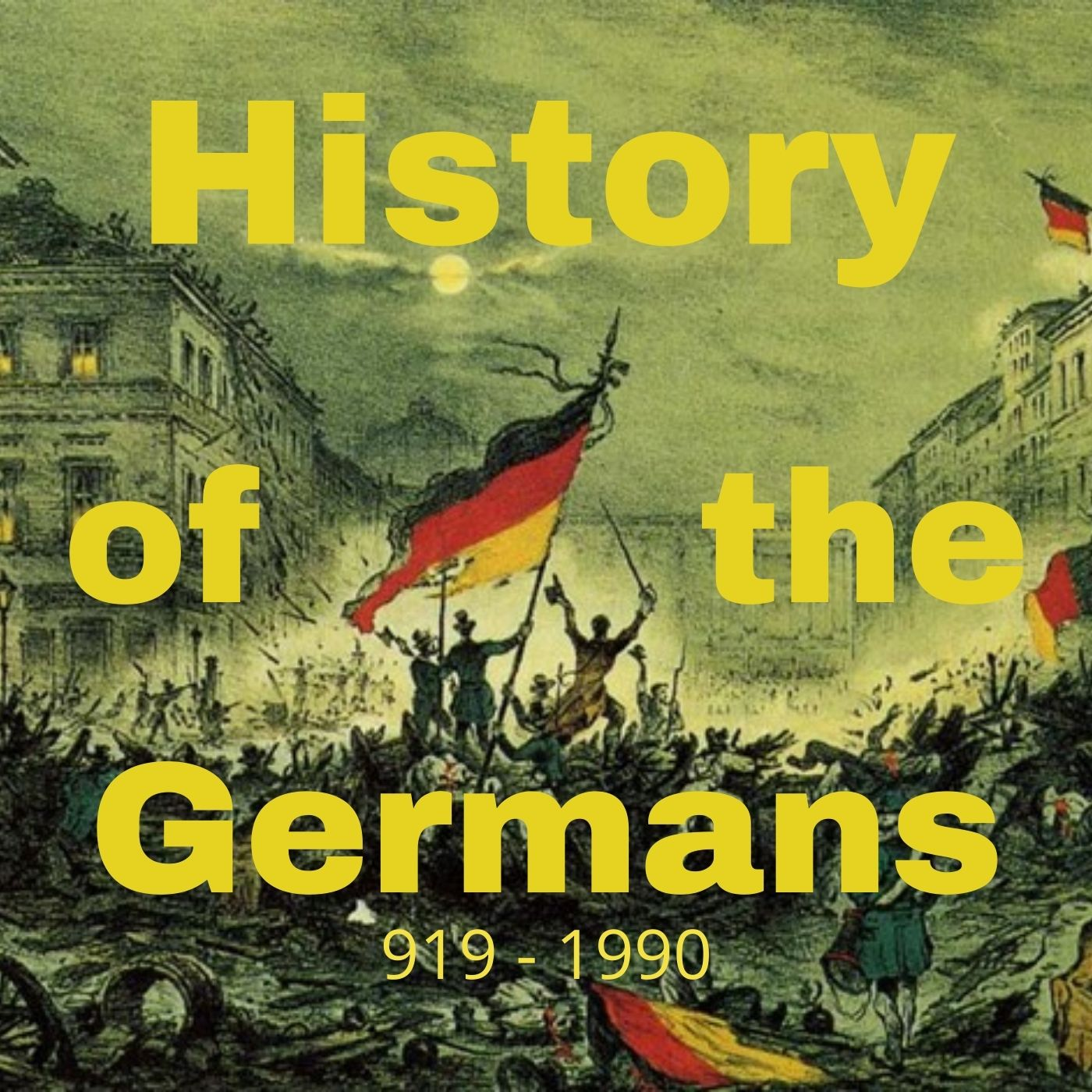 Show artwork for History of the Germans